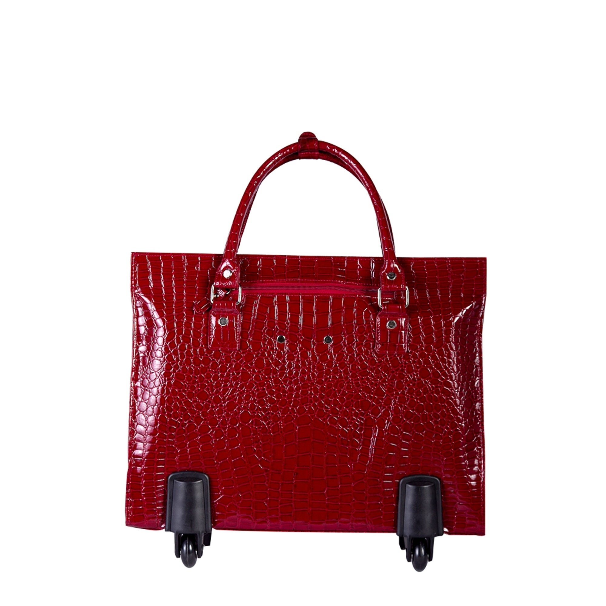 088138b8912 Shop Bugatti Ladies Bag on Wheels in Red - Free Shipping Today ...