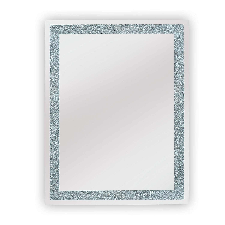 Shop Dyconn Faucet Edison Crystal LED Backlit Bathroom Mirror with ...