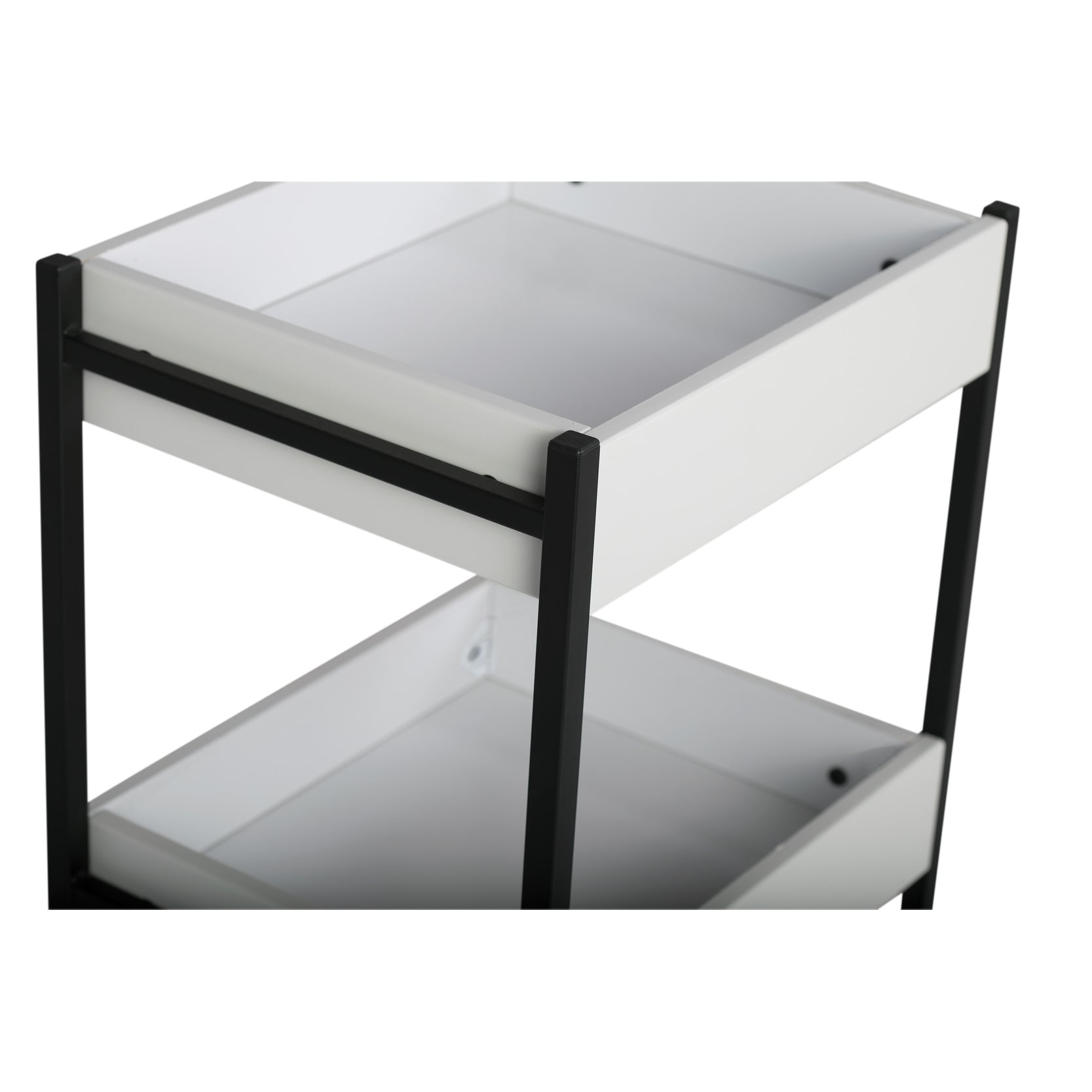 Studio Designs 3 Bin Rolling Storage Cart
