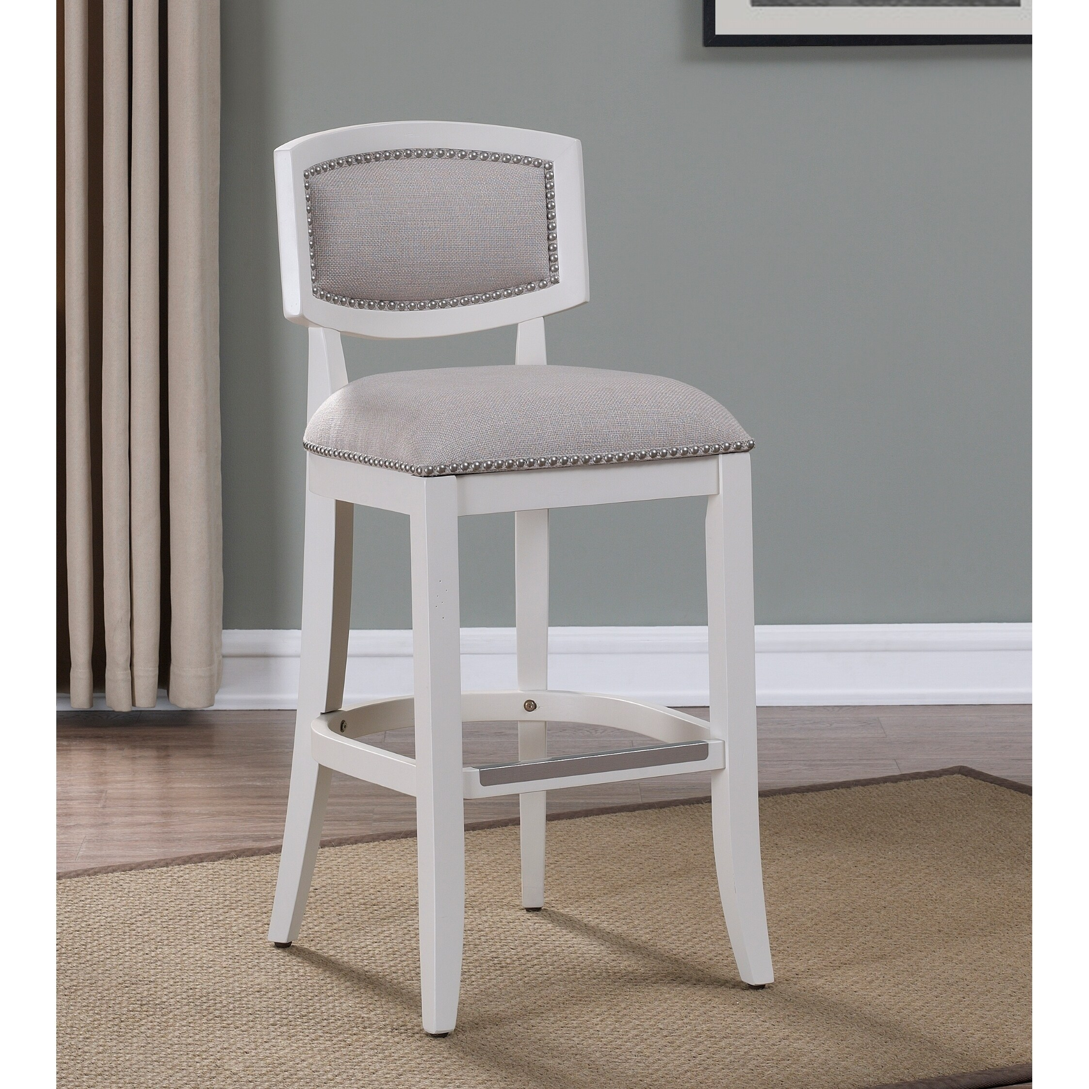 Aspen Antique White Counter Height Stool By Greyson Living On Free Shipping Today 22719136