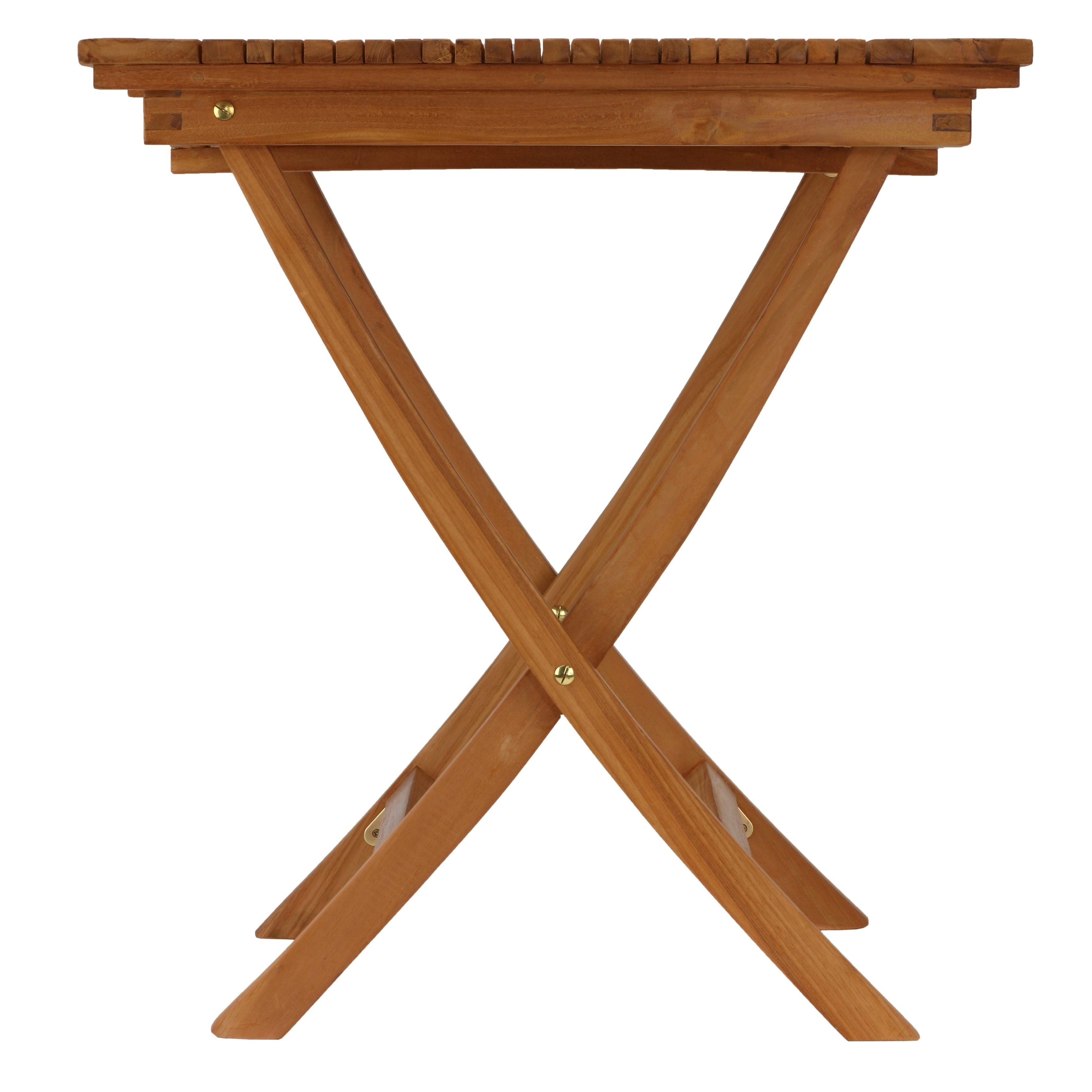 Bare Decor Helene Outdoor Teak Folding Dining Table 28 Square 27 5 W X L 29 75 H Free Shipping Today 22730722