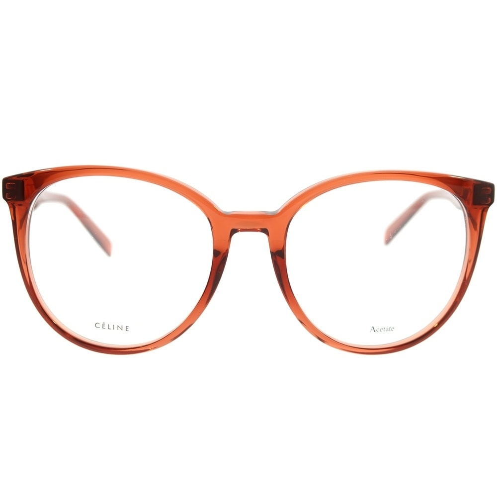 a6b8b0f661a Shop Celine Round CL 41348 Thin Mary EFB Unisex Dark Orange Frame Eyeglasses  - Ships To Canada - Overstock - 22734038