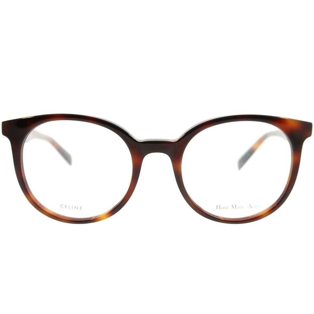 9a465bd9d0c Shop Celine Round CL 41349 Thin Mary Small 05L Unisex Havana Frame  Eyeglasses - Free Shipping Today - Overstock - 22734054