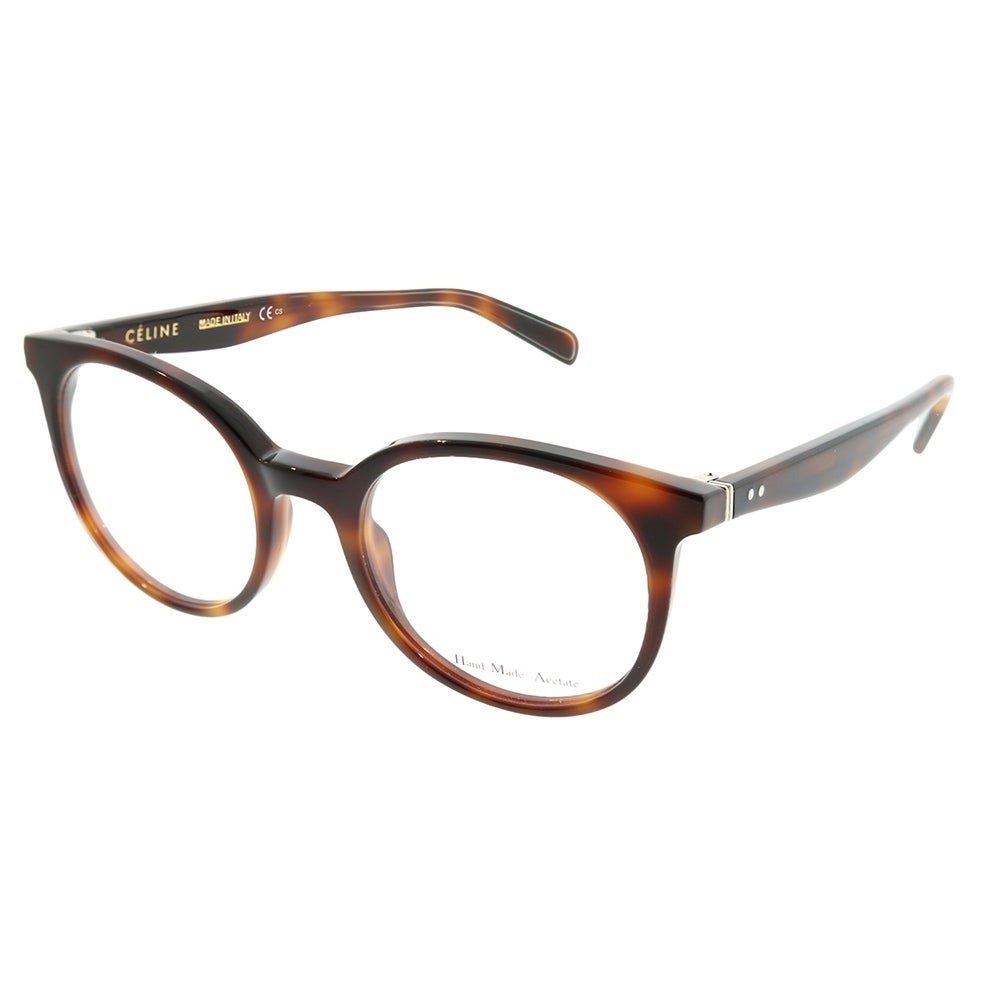 0835e591a98 Shop Celine Round CL 41349 Thin Mary Small 05L Unisex Havana Frame  Eyeglasses - Free Shipping Today - Overstock - 22734054
