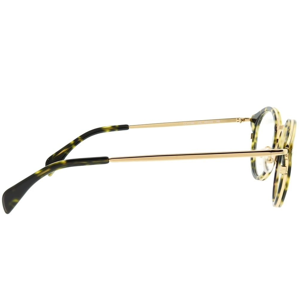 31666f0484e0 Shop Celine Round CL 41380 Joe J1L Unisex Havana Green Gold Frame Eyeglasses  - Free Shipping Today - Overstock - 22745875