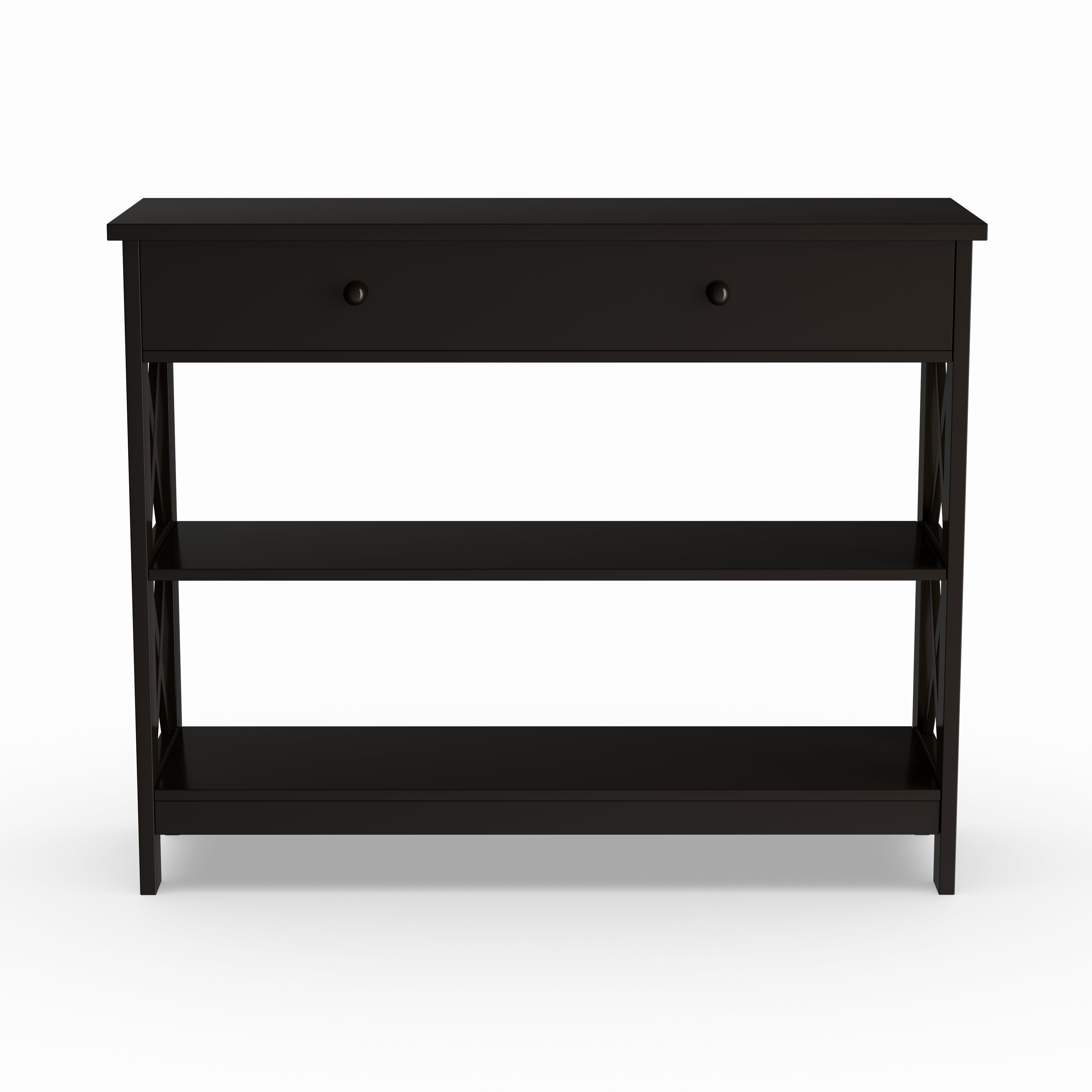 Shop Copper Grove Cranesbill 1 Drawer Console Table Free Shipping