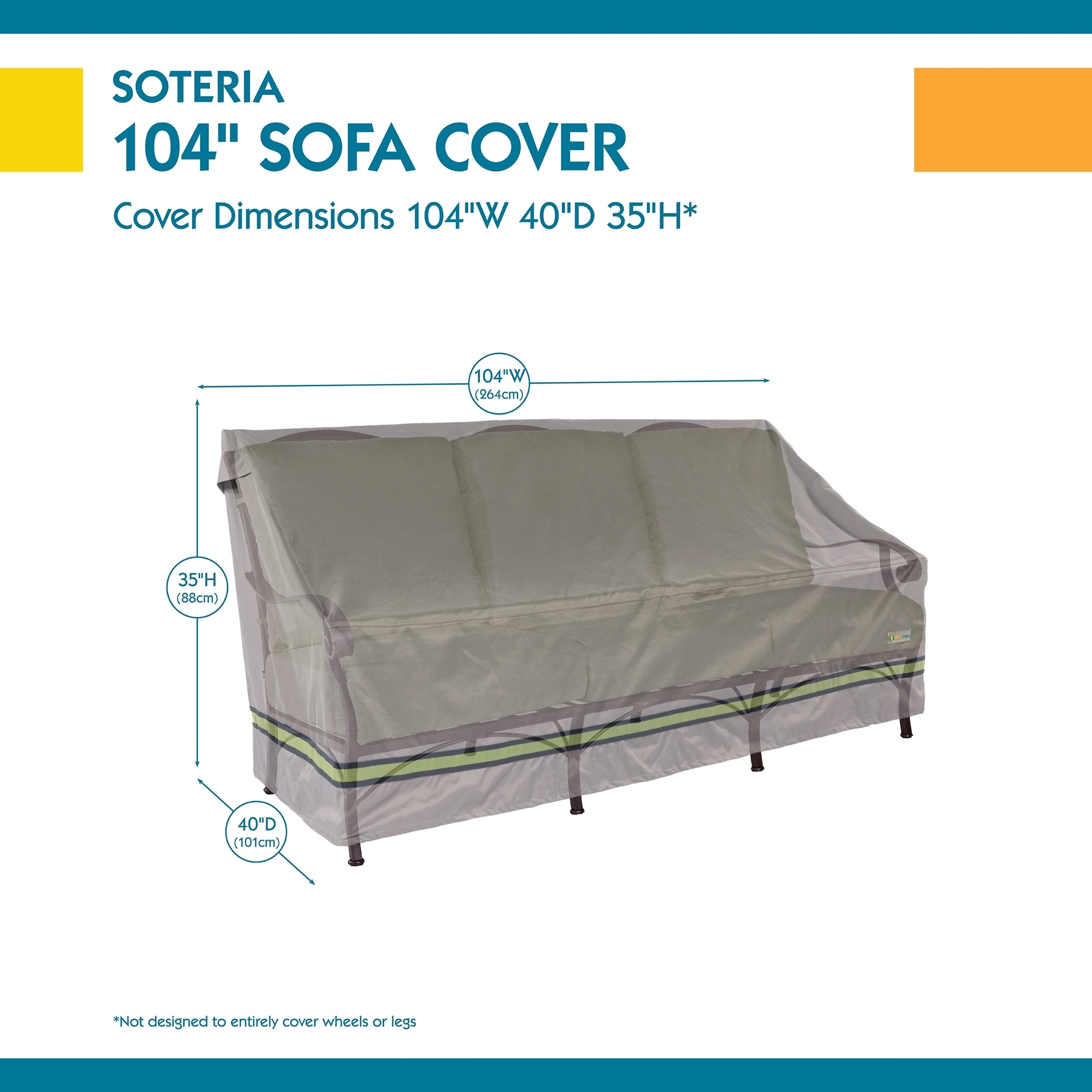 Duck Covers Soteria Rainproof W Patio Sofa Cover On Free Shipping Today 22814672