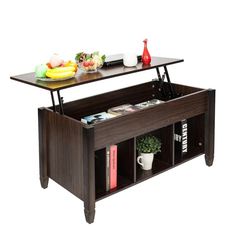 Shop Lift Top Living Room Furniture End Coffee Table Hidden
