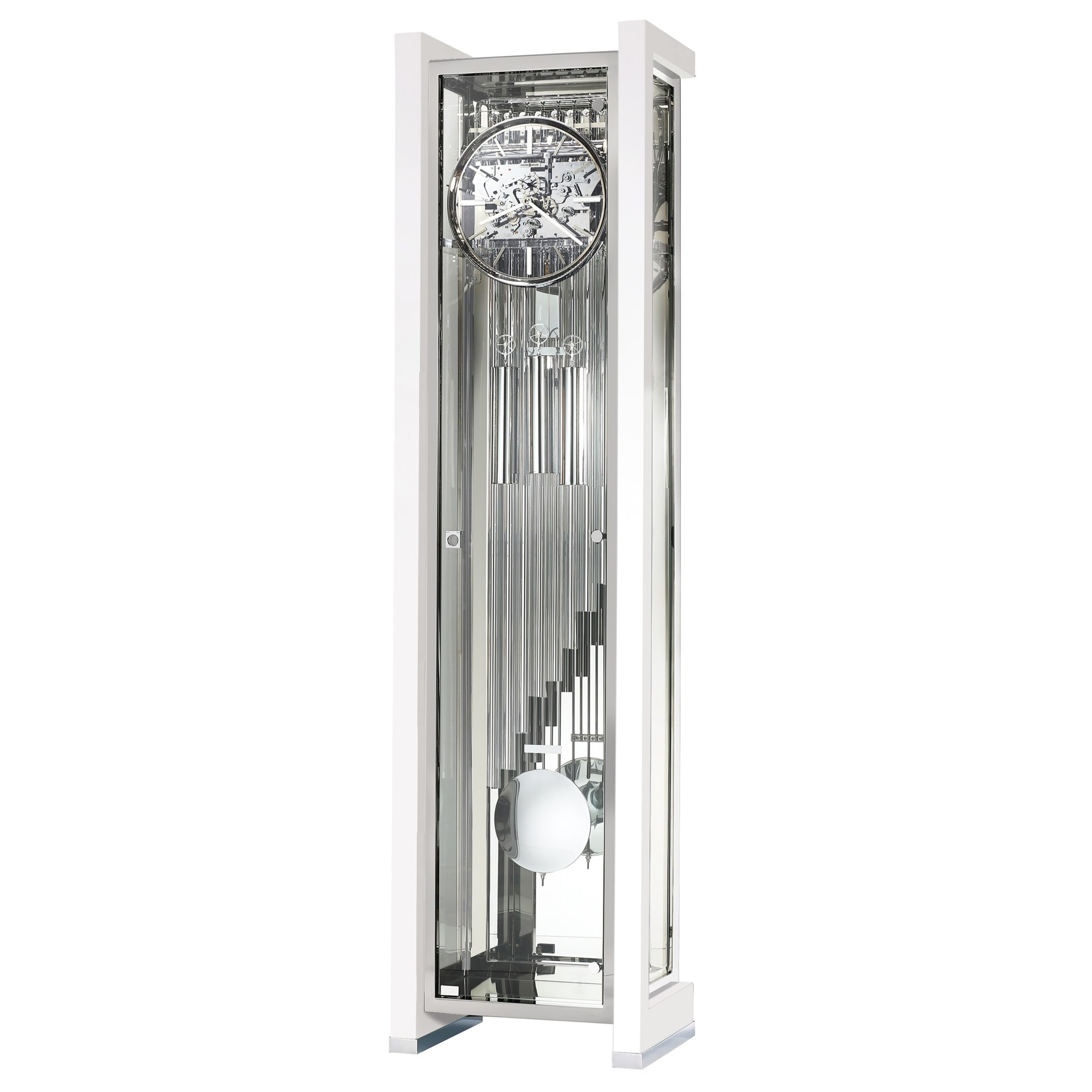 Howard Miller Park Avenue Limited Edition Modern Grandfather Clock Style Standing With Pendulum And Movements Free Shipping Today
