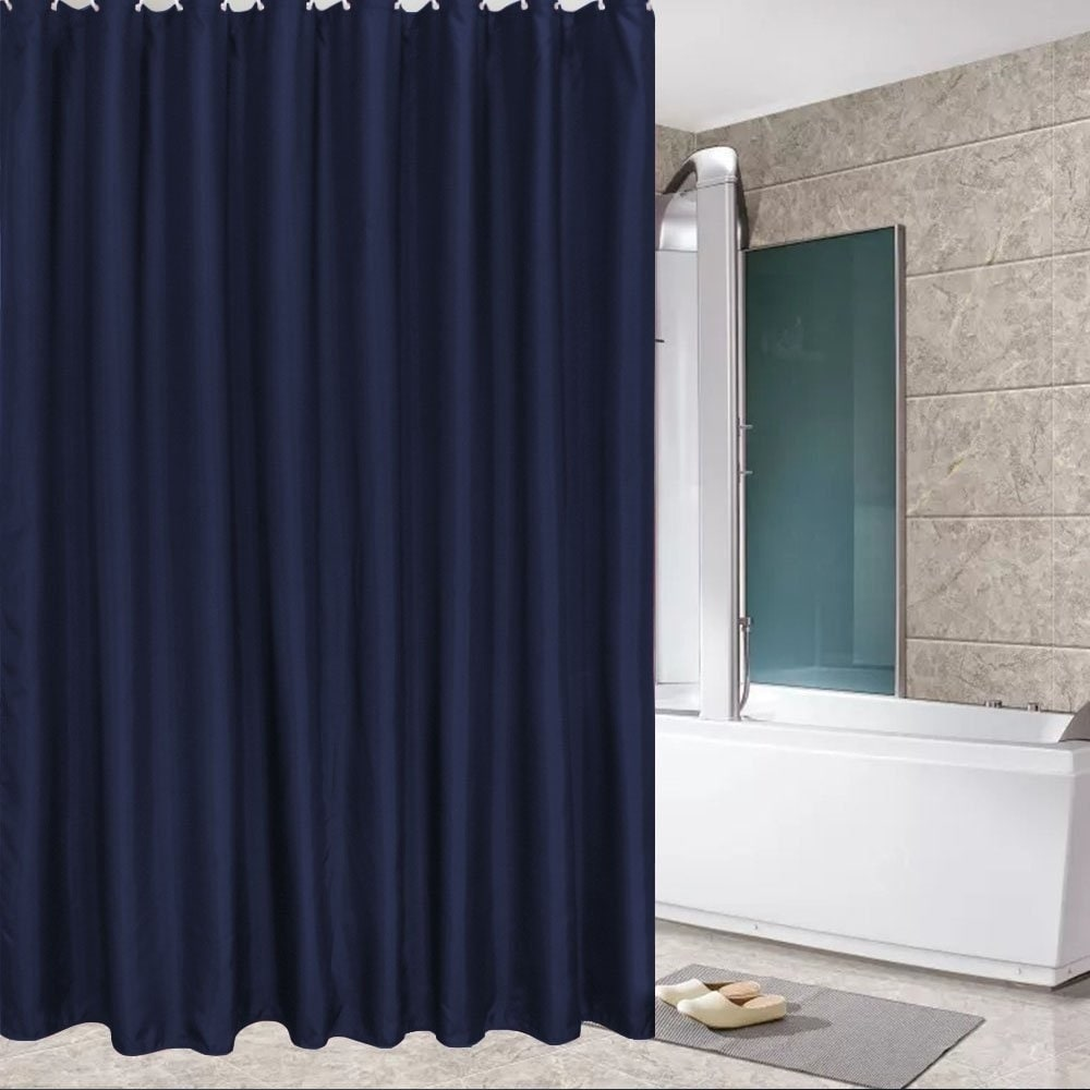 Shop Fabric Shower Curtain Mildew Resistant And Waterproof
