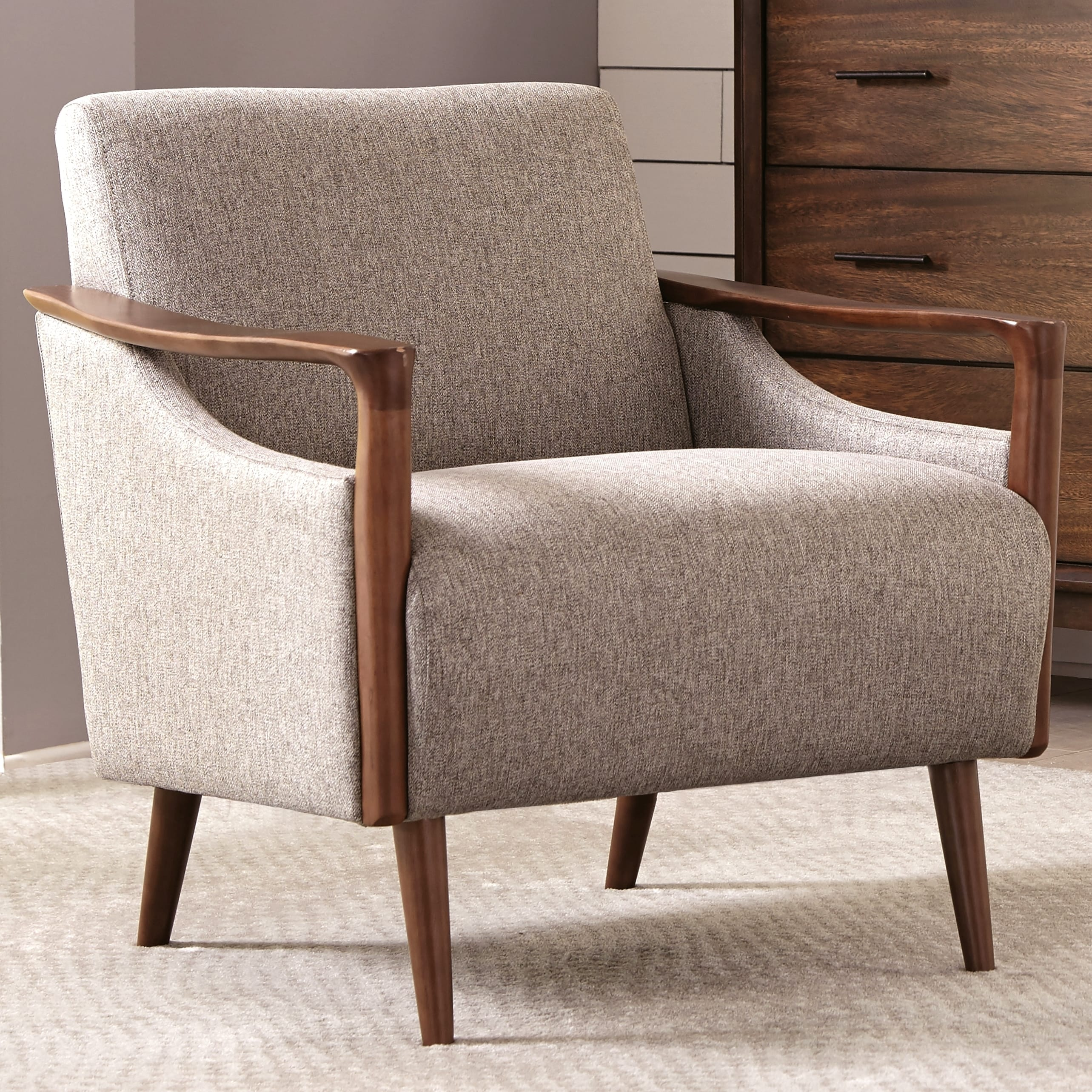 Shop Mid Century Modern Design Living Room Accent Chair Free