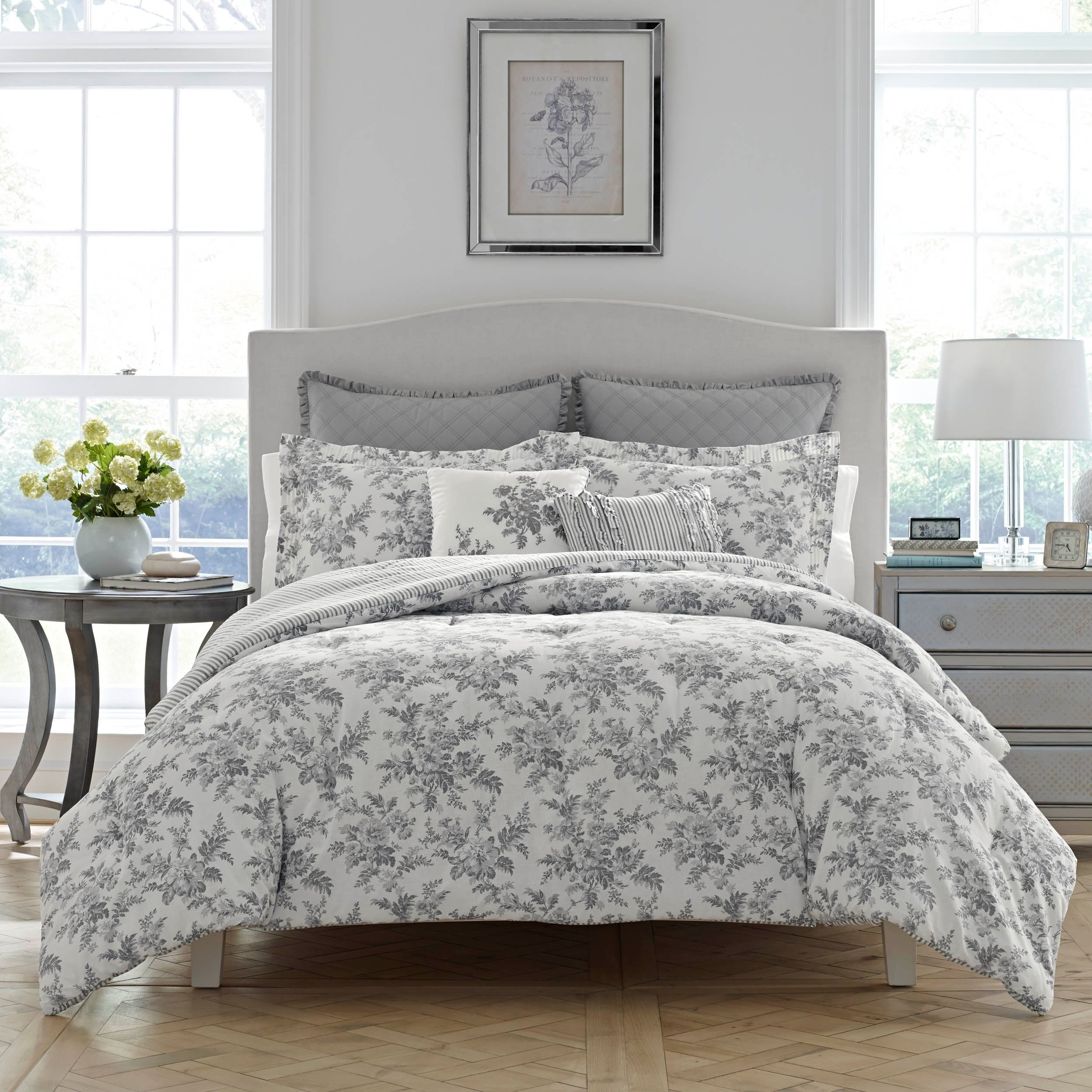 Laura Ashley Annalise Fl Duvet Cover Set On Free Shipping Today 22827985
