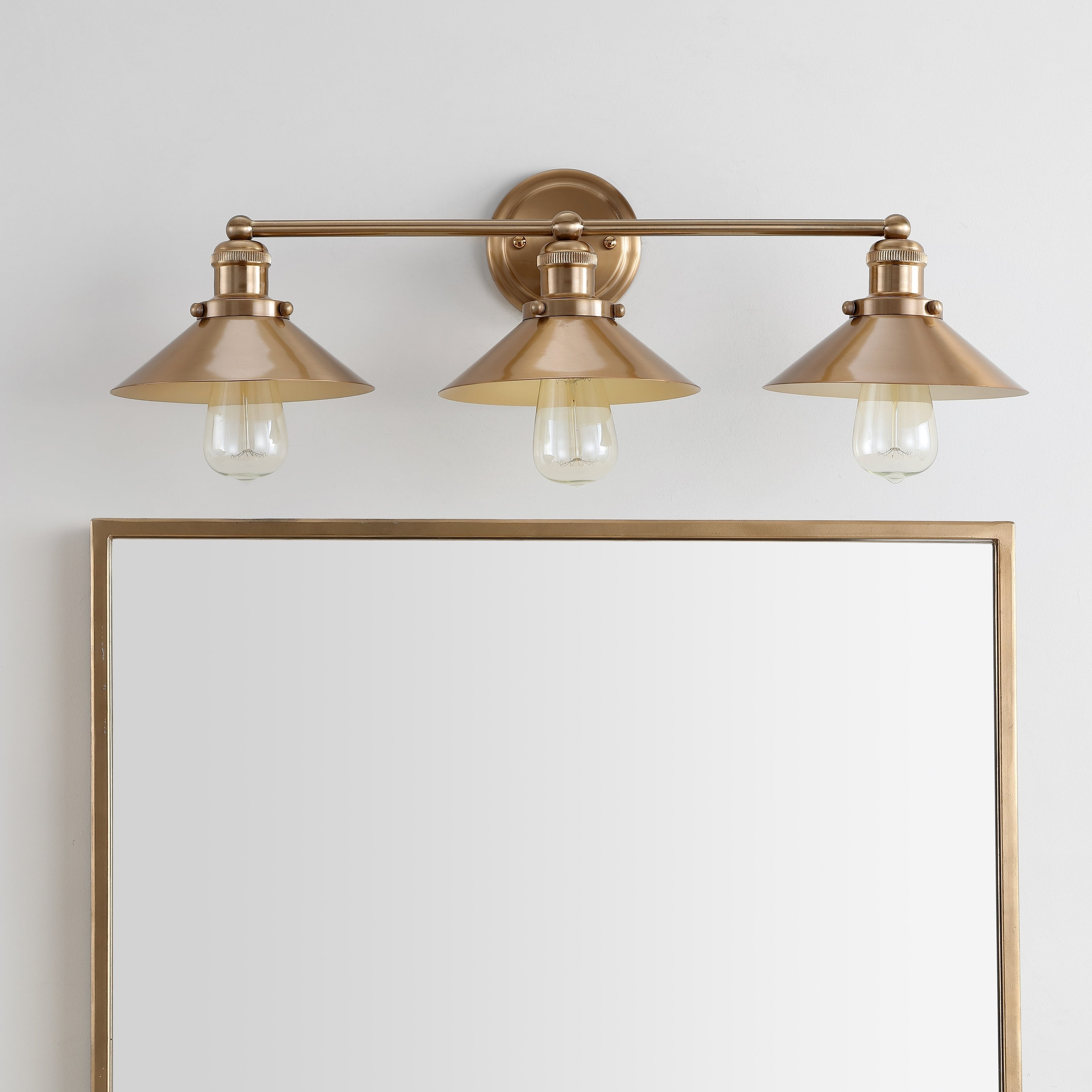 August 26 5 3 light metal vanity light brass gold by jonathan y