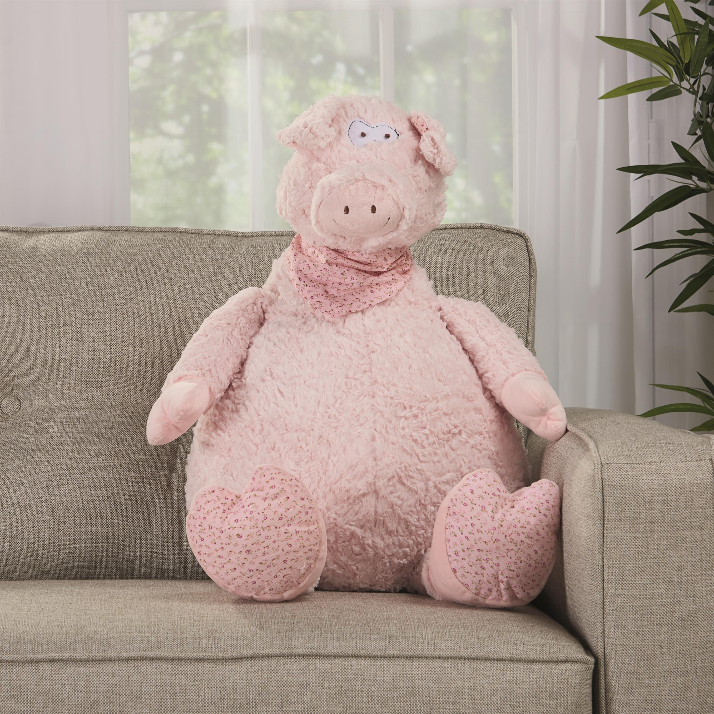 b62e513e95f Shop Mina Victory Plushlines Animal Pillows - Free Shipping On Orders Over   45 - Overstock - 22851741