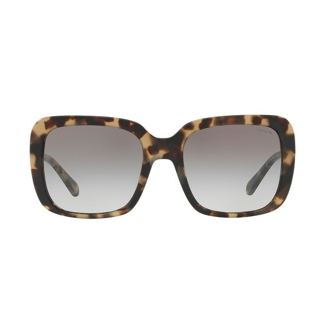 5b8ac7a3e2f Shop Coach HC8237 Women Sunglasses - Free Shipping Today - Overstock.com -  22885320