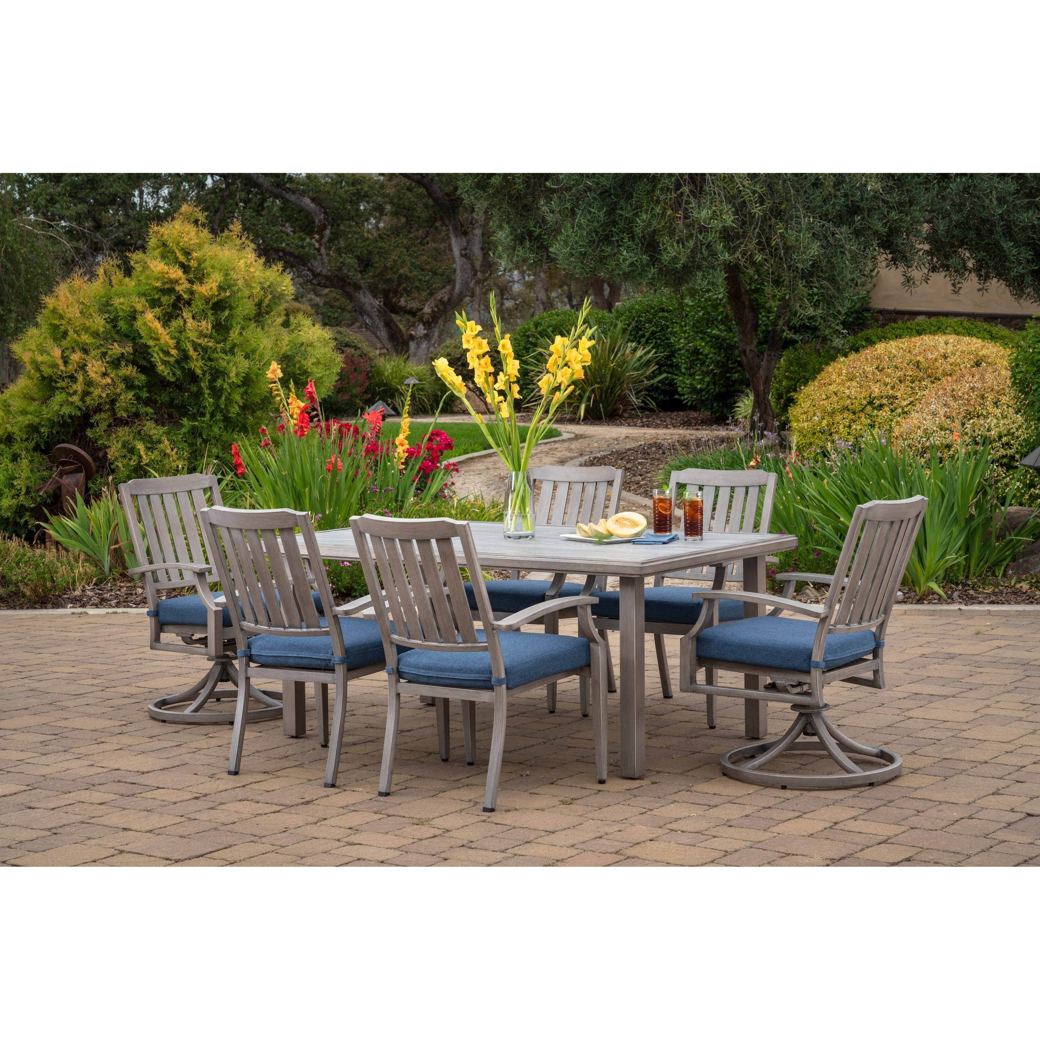 Genial Shop Foremost Casual Tanglewood 7 Piece Dining Set   Aged Mocha   Free  Shipping Today   Overstock   22885926
