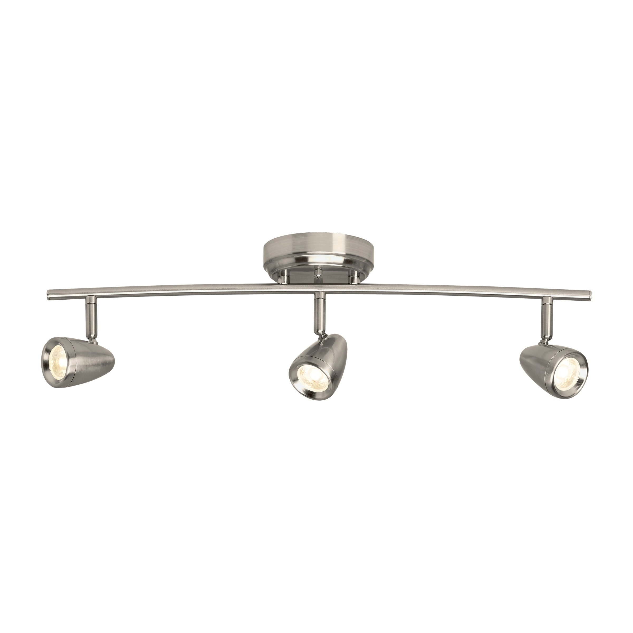 Talida Brushed Nickel 3 Light Led Track Free Shipping Today 22887761