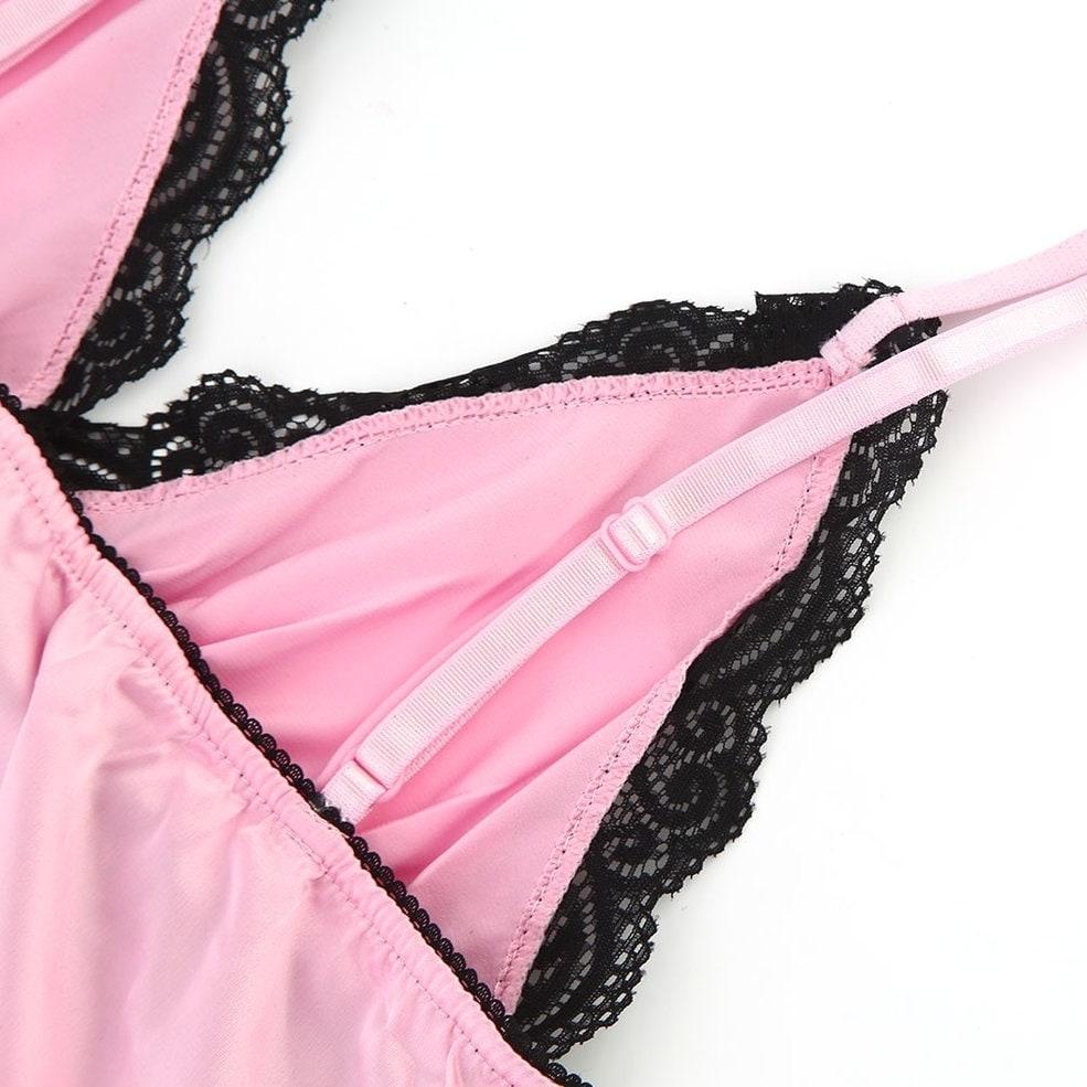 19d05aedad49 Shop y 2pcs/Set ETAOLINE High Elastic Satin Tops&Short Pants Sleepwear -  xxxl - Free Shipping On Orders Over $45 - Overstock - 22890843