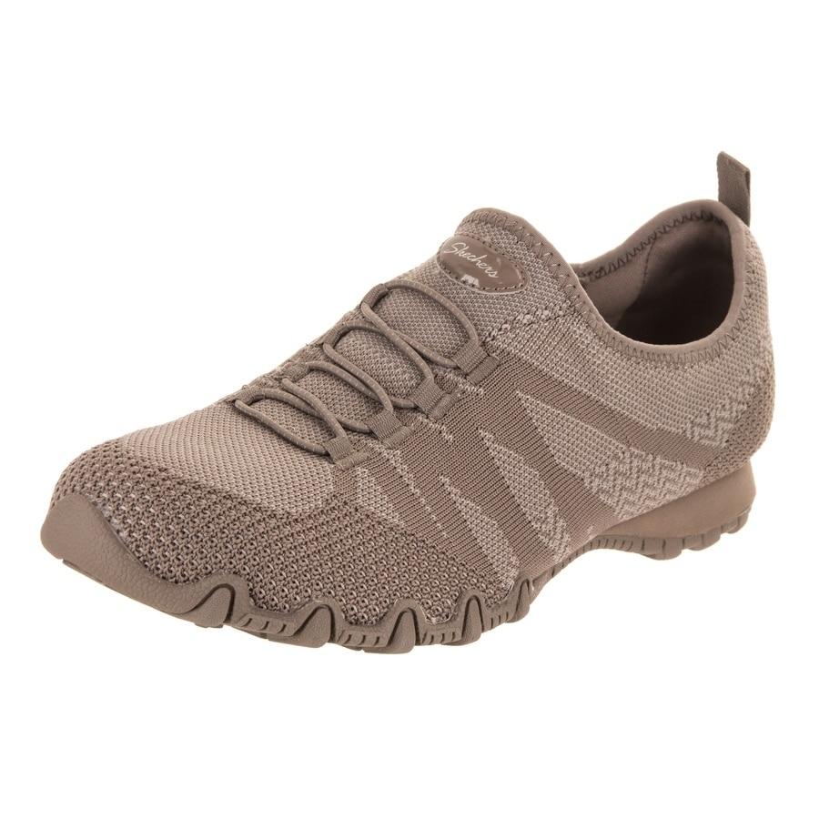02bb6534b893 Shop Skechers Women s Bikers - Knit Happens Casual Shoe - Free ...