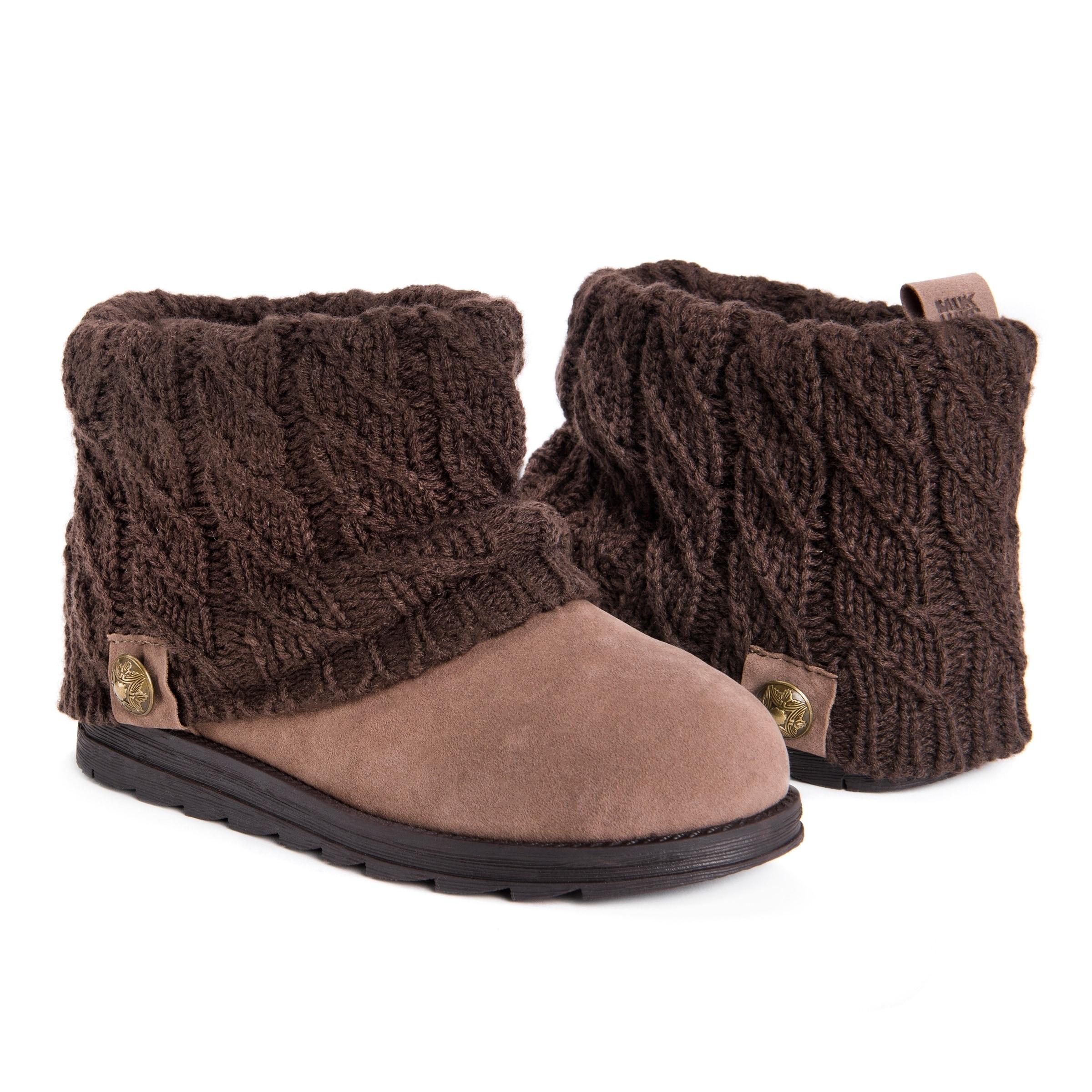 bae764da6586 Shop MUK LUKS® Women s Patti Short Boots - Free Shipping Today - Overstock  - 22895481