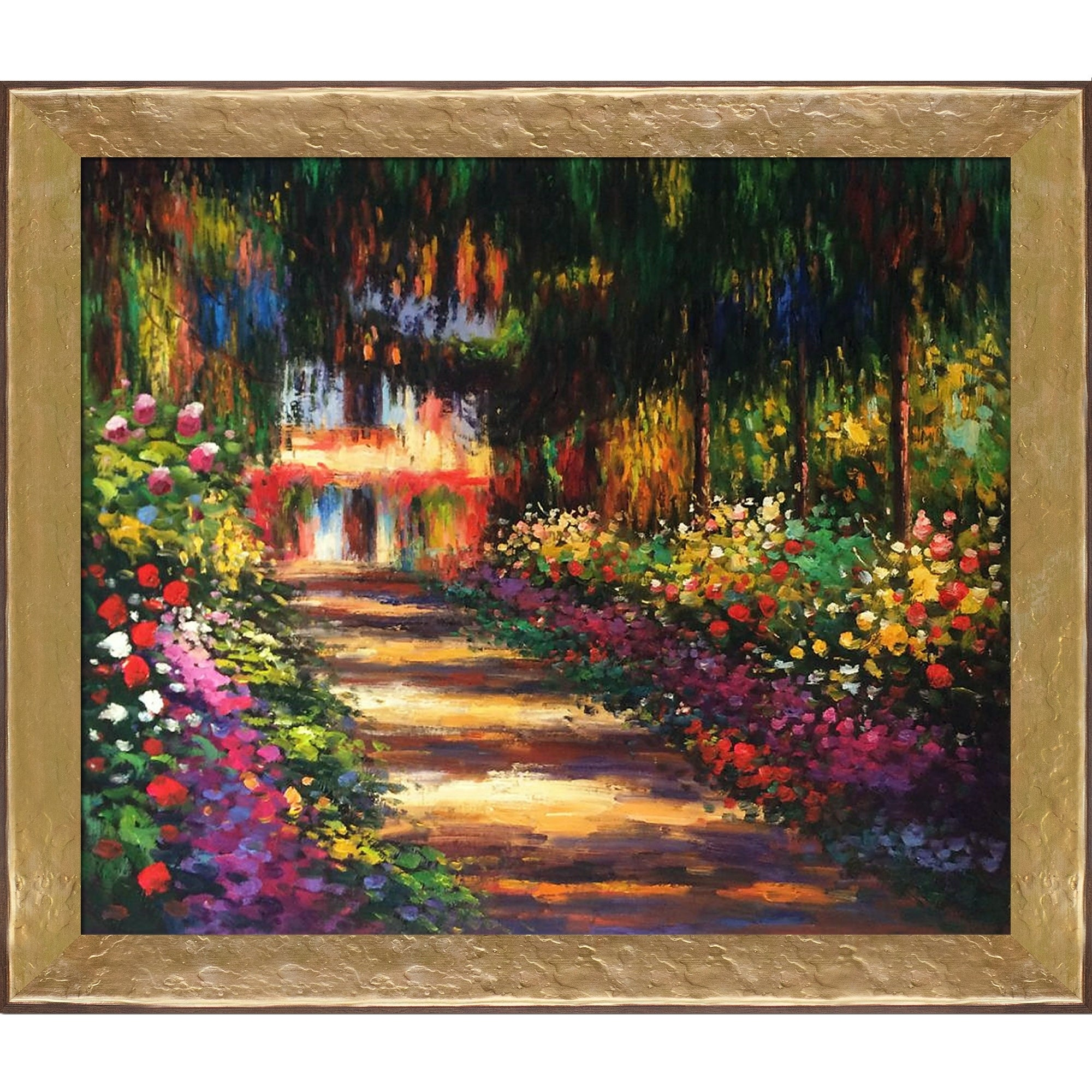 Shop Claude Monet \'Pathway in Monet\'s Garden at Giverny\' Hand ...