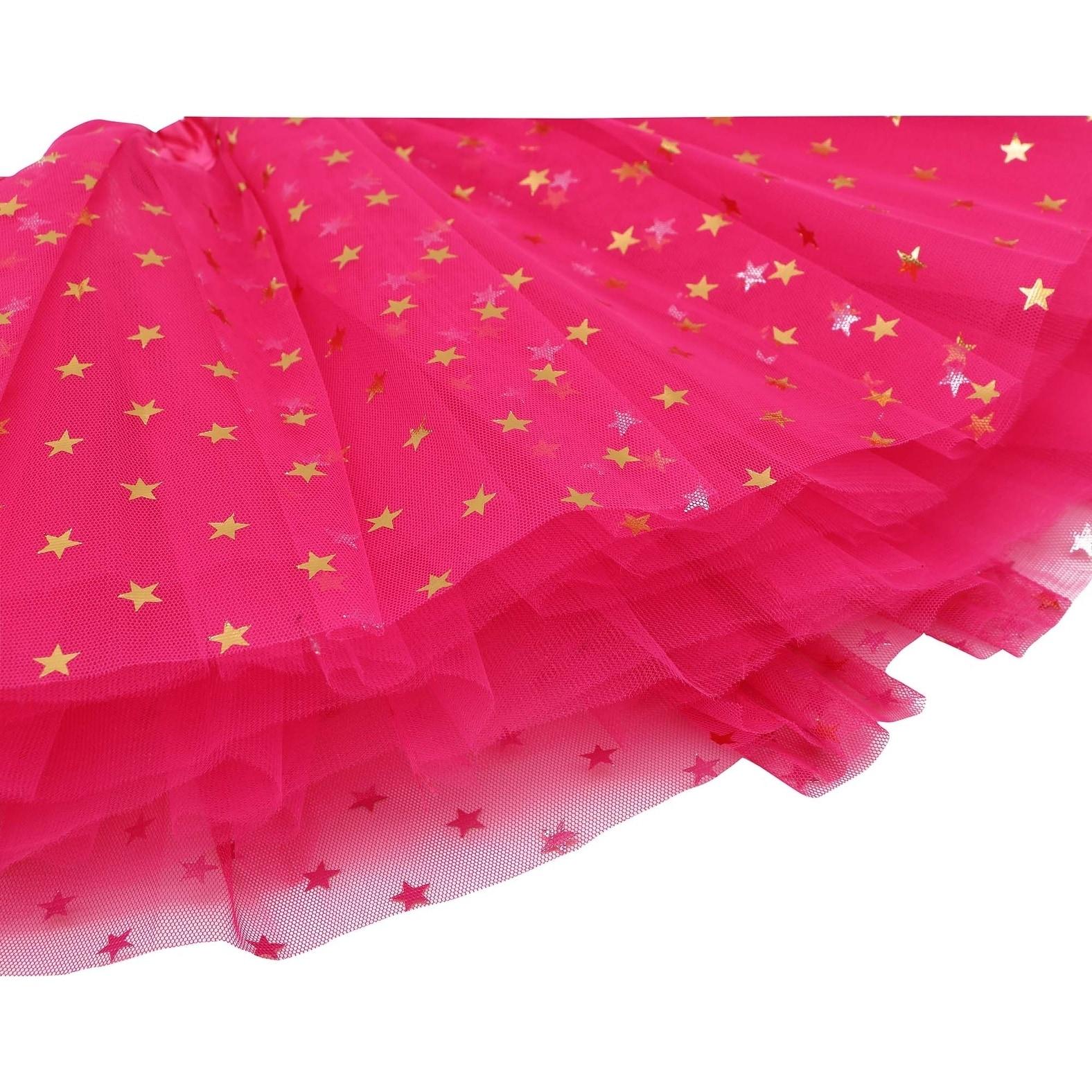 1c06e8715 Shop Girls Tutu 4 Layered Tulle Dress-Up Princess Fairy Tutu Skirt,Black -  Free Shipping Today - Overstock - 22899315