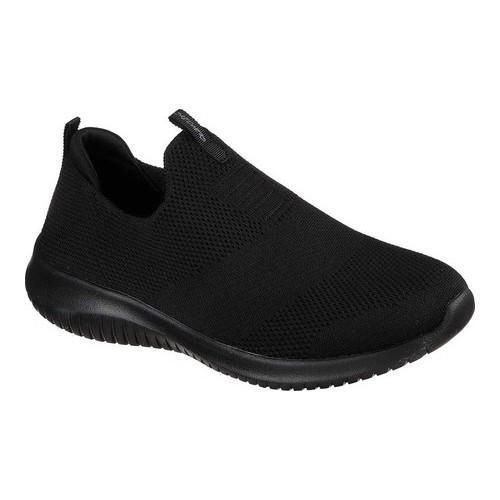 Skechers Women's Ultra Flex Slip On Sneaker Blk/Wht 6.5 M US 4sHM6qenap