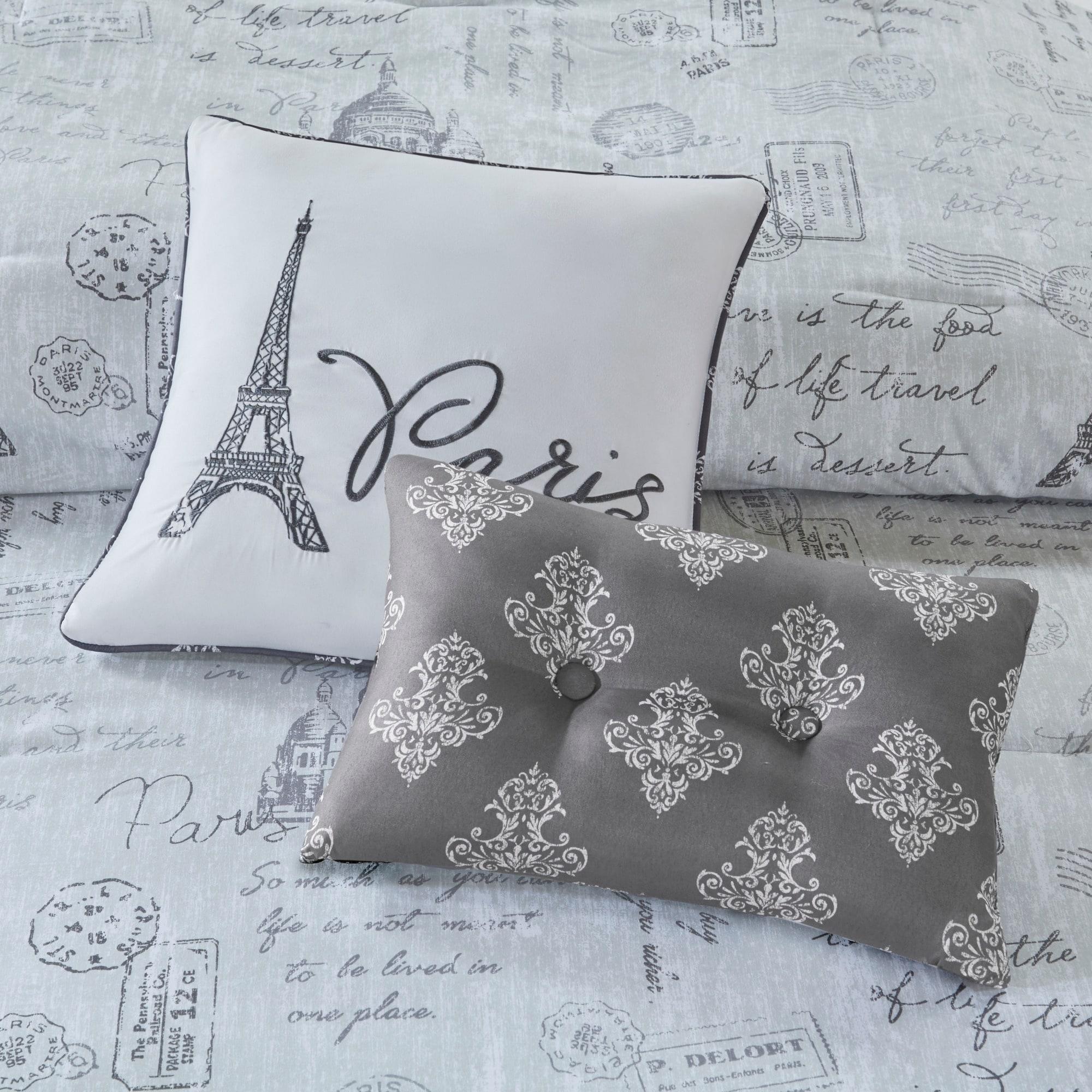 Shop 510 Design Mariam Gray/ Charcoal 5-Piece Reversible Paris ...
