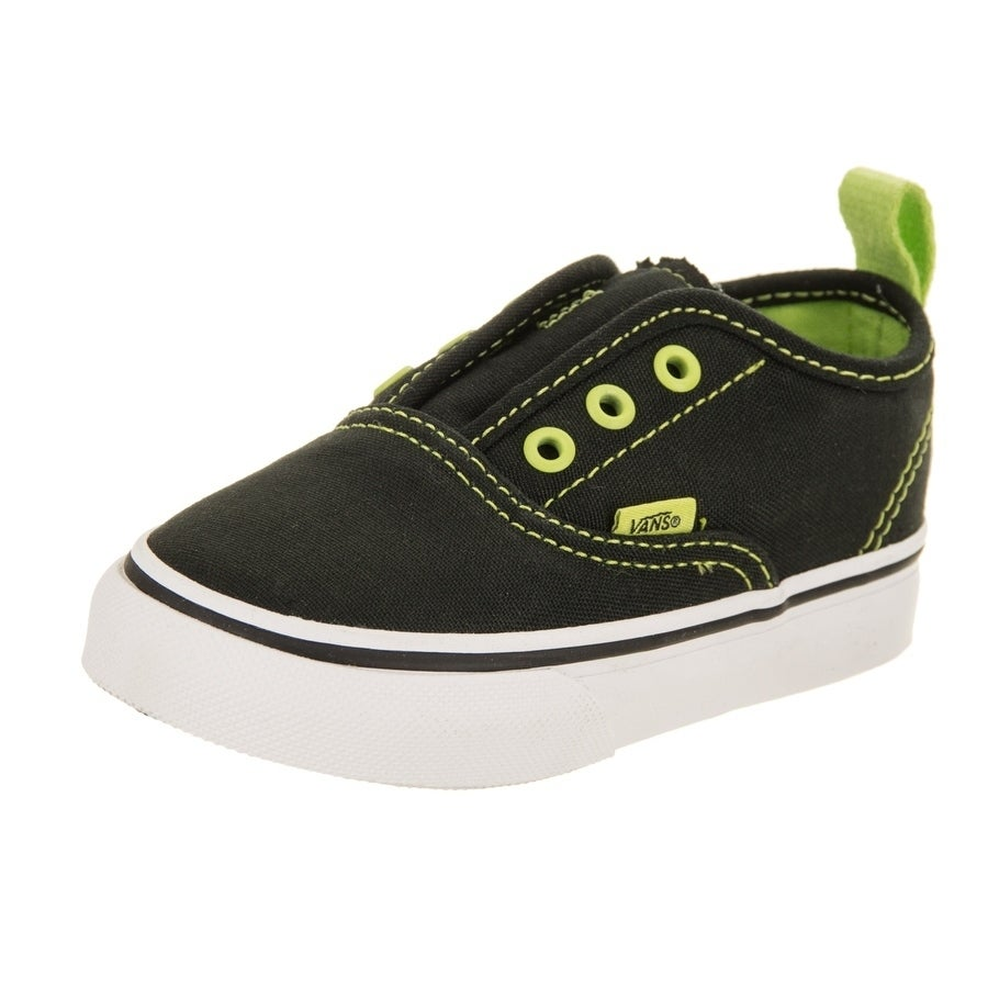 Shop Vans Toddlers Authentic V (Pop Eyelets) Skate Shoe - Free ... b8ec772d8