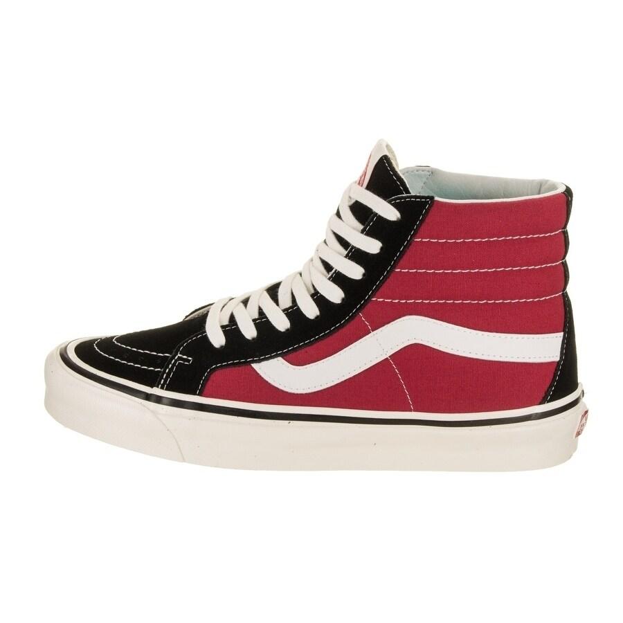 Shop Vans Unisex Sk8-Hi 38 DX (Anaheim Factory) Skate Shoe - Free ... 32c5e25f1
