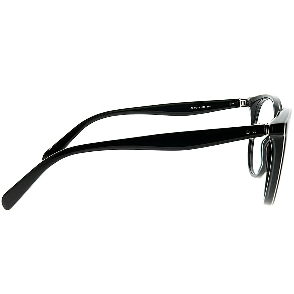 bfe9dfde967 Shop Celine Round CL 41348 Thin Mary 807 Unisex Black Frame Eyeglasses -  Free Shipping Today - Overstock - 22927852