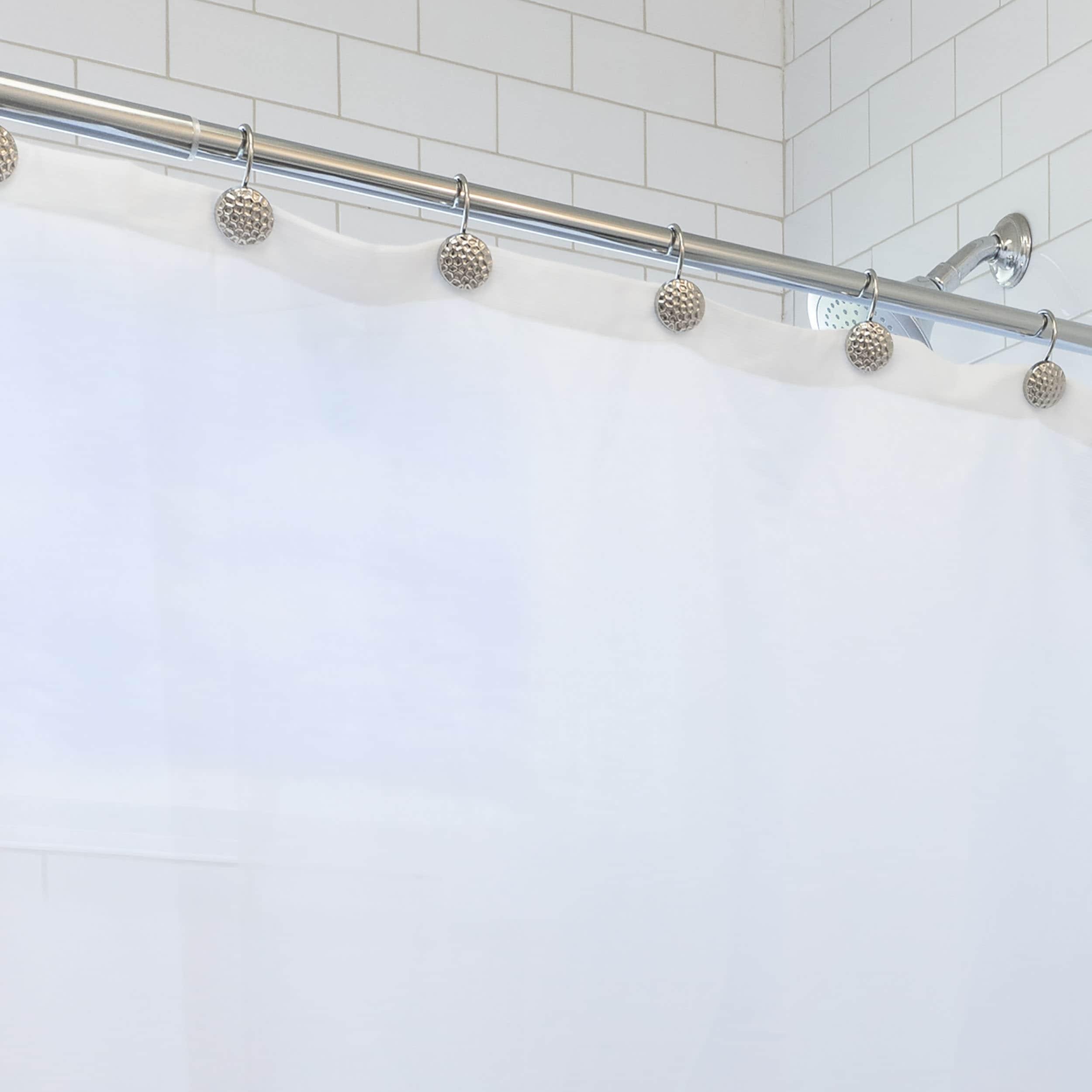 Shop Laura Ashley Peva Shower Curtain Liner Frosty