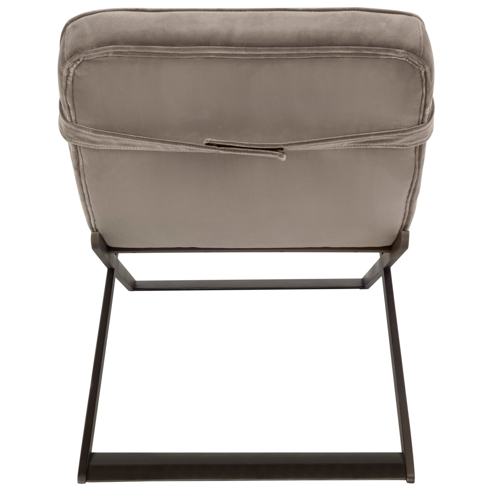 Shop Safavieh Couture Mandalay Taupe Bronze Velvet Stainless Steel Chaise