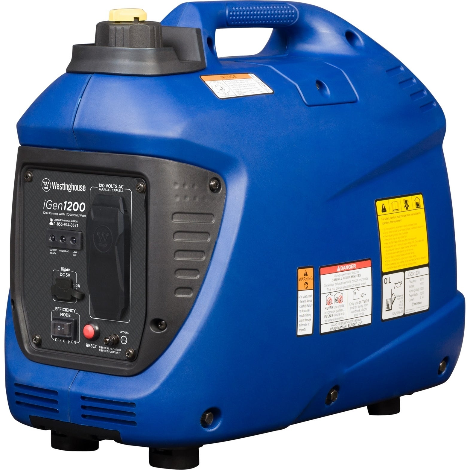shop westinghouse igen1200 portable inverter generator ships to rh overstock ca