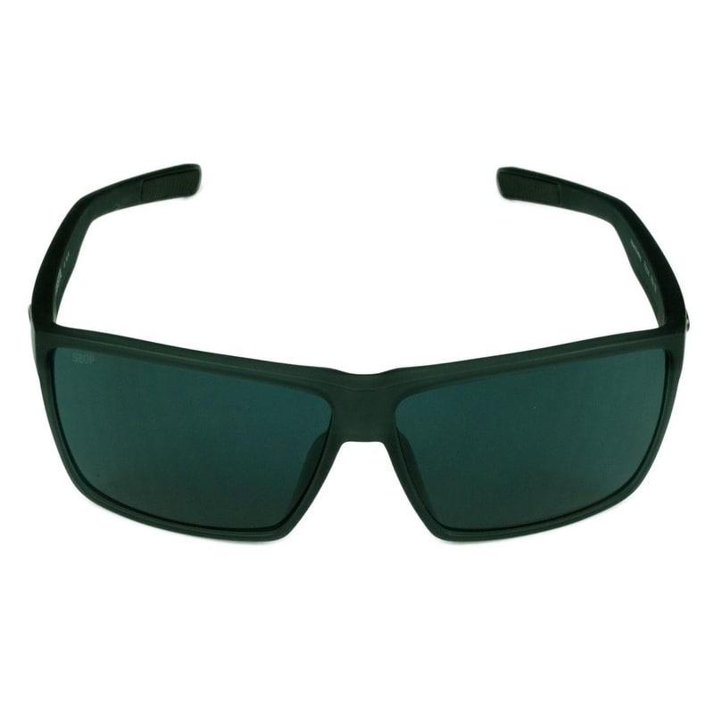 f006a6cd96f Shop Costa Del Mar Rincon Sunglasses Shiny Black Frame w  Green Mirror  Polarized Lens - Smoke - Free Shipping Today - Overstock - 22972045