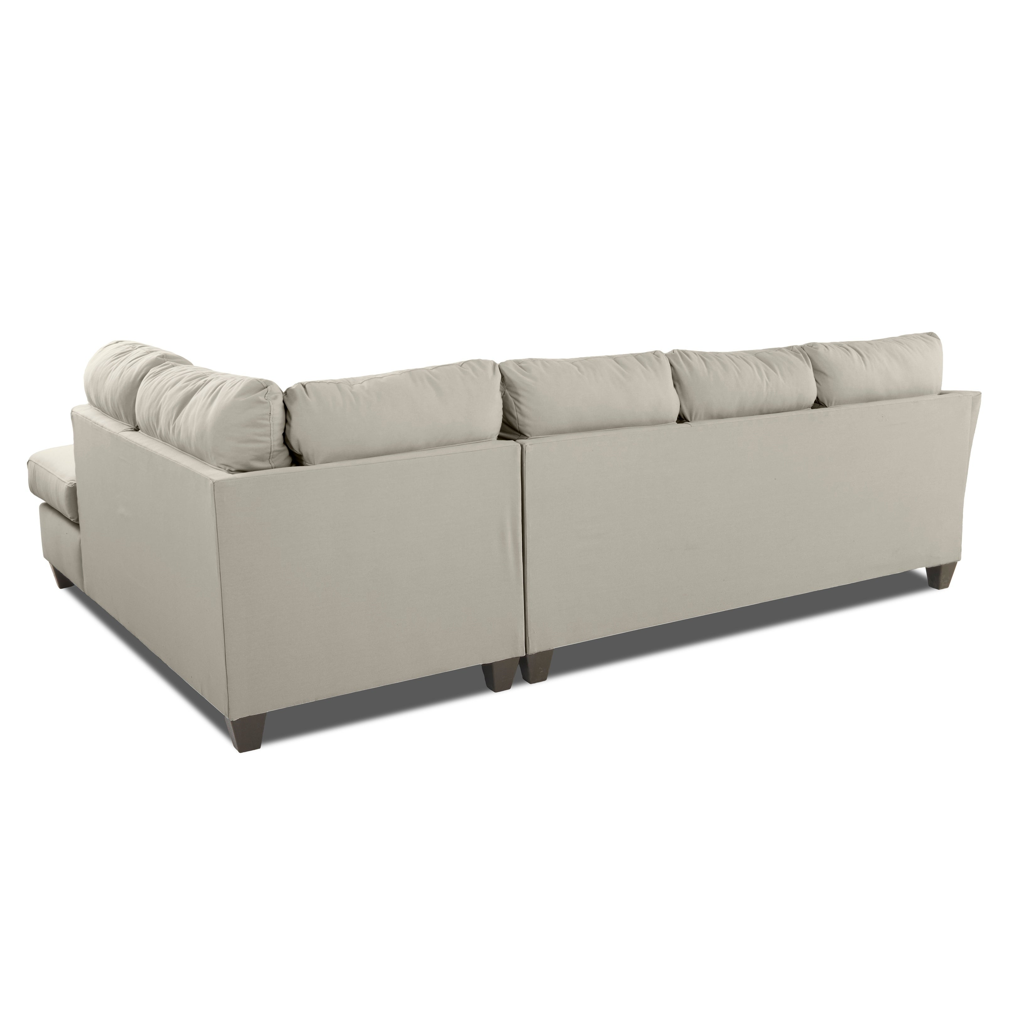Shop Klaussner Furniture Made To Order Dallas Sofa Chaise Sectional   On  Sale   Free Shipping Today   Overstock.com   22973935