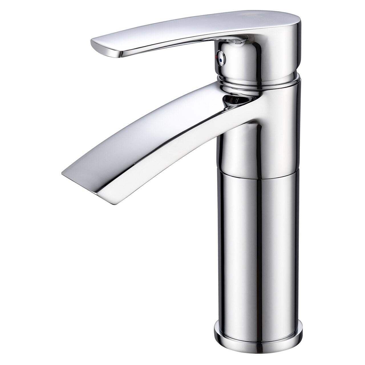 Shop Ariana 7 Single Hole Bathroom Sink Faucet With Swivel Spout