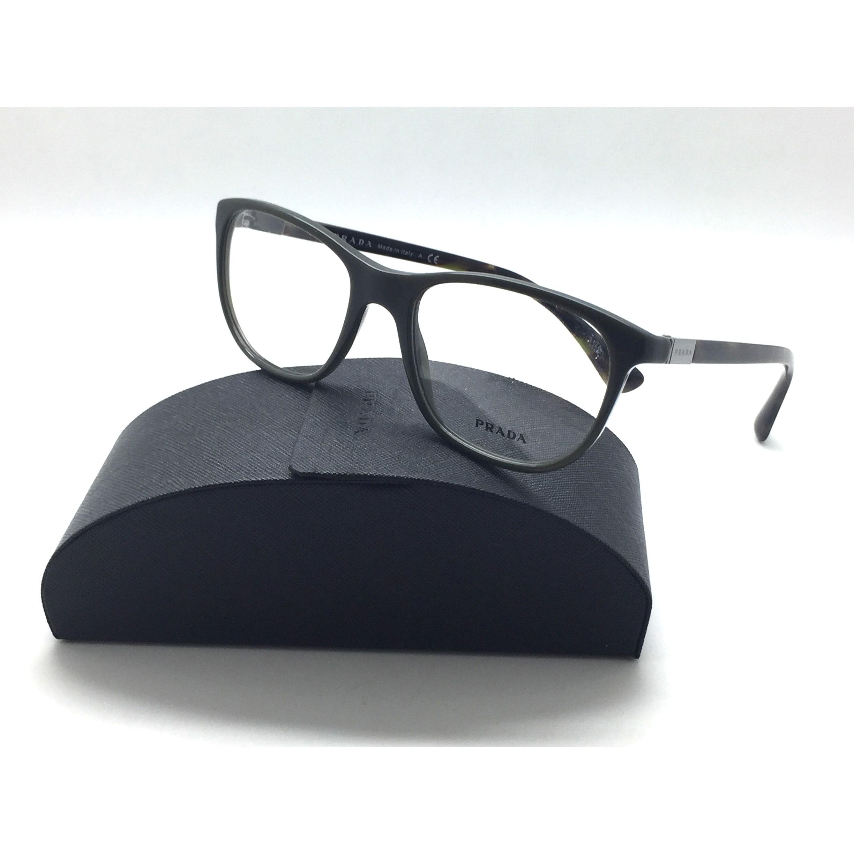 c2f8fdfff0ce Shop Prada Shiny Green Tortoise Acetate Eyeglasses VPR 29S UF8 1O1 54mm -  Free Shipping Today - Overstock.com - 23008350