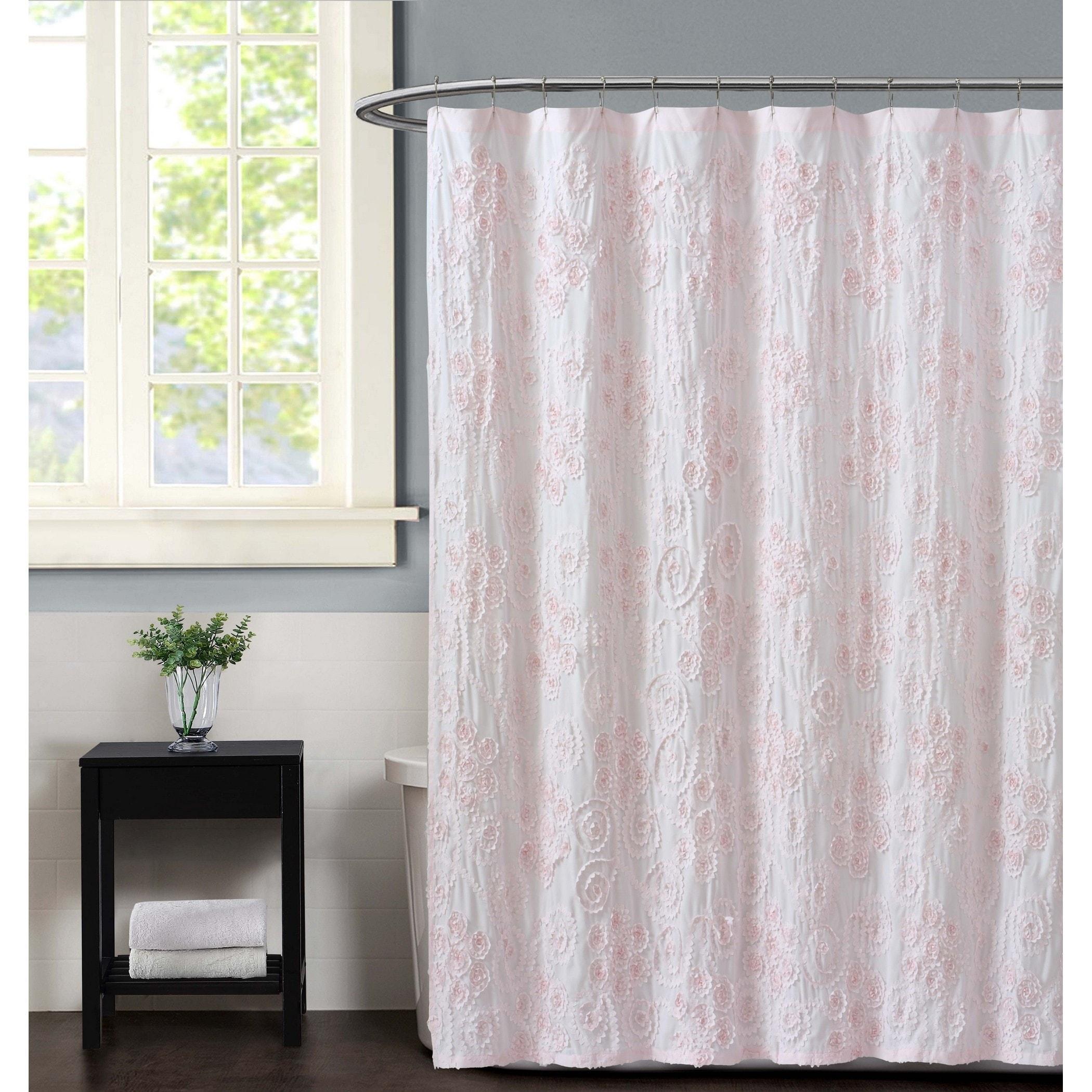Christian Siriano Pretty Petals 72 X Shower Curtain