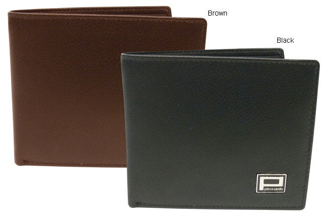 Shop Pierre Cardin Luxurious Leather BiFold Mens Wallet - Free Shipping On  Orders Over  45 - Overstock - 2301570 09ed5032986ab