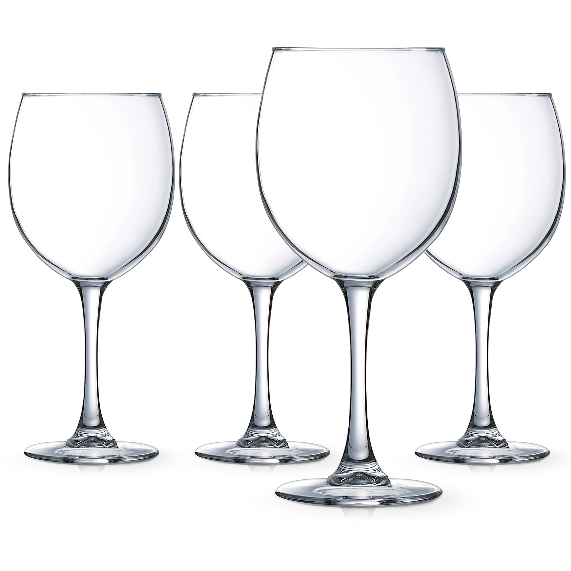 00e9e82caa7 Luminarc Cachet 20.5 Ounce Balloon Wine Glass, Set of 4