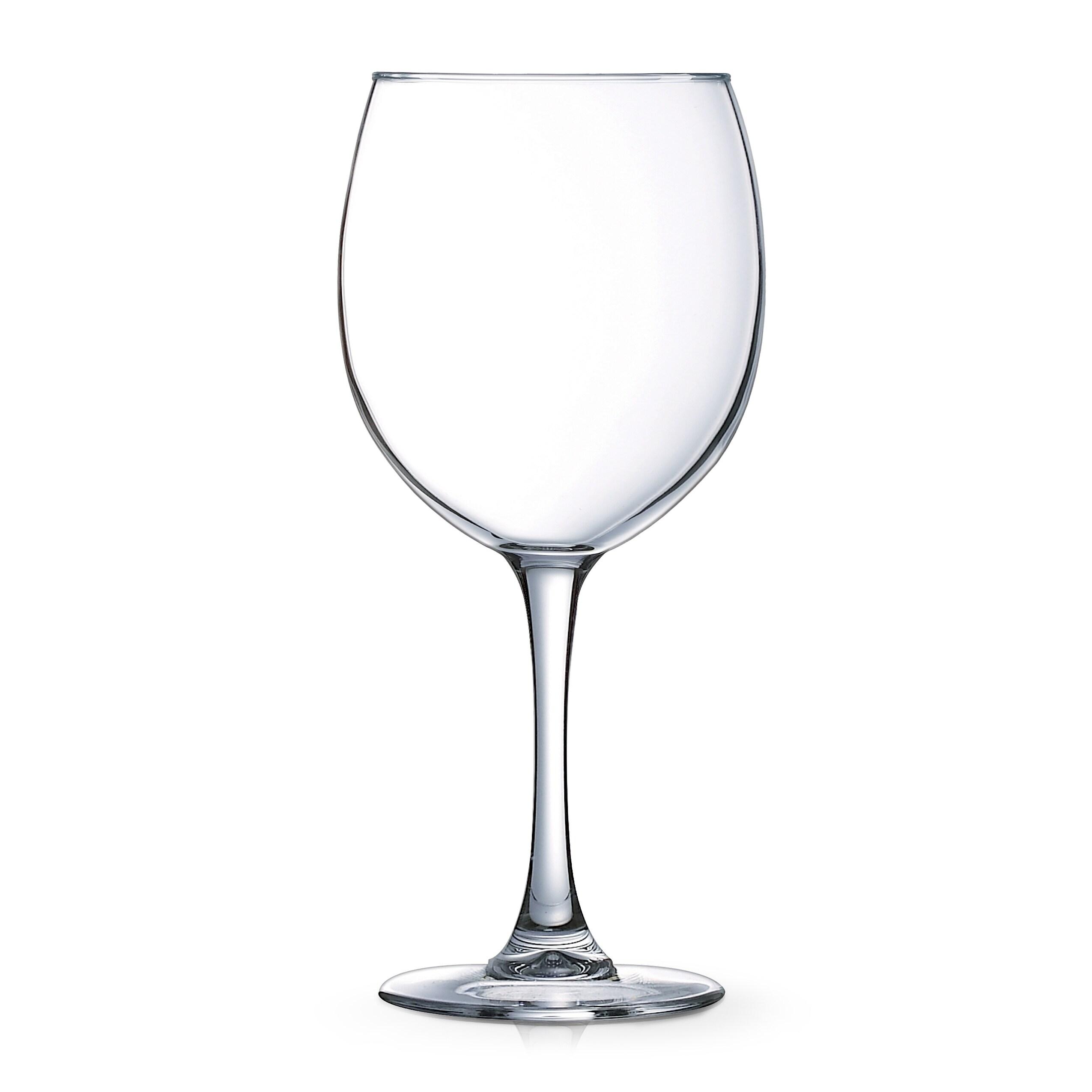 dfc44f05758 Luminarc Cachet 20.5 Ounce Balloon Wine Glass, Set of 4