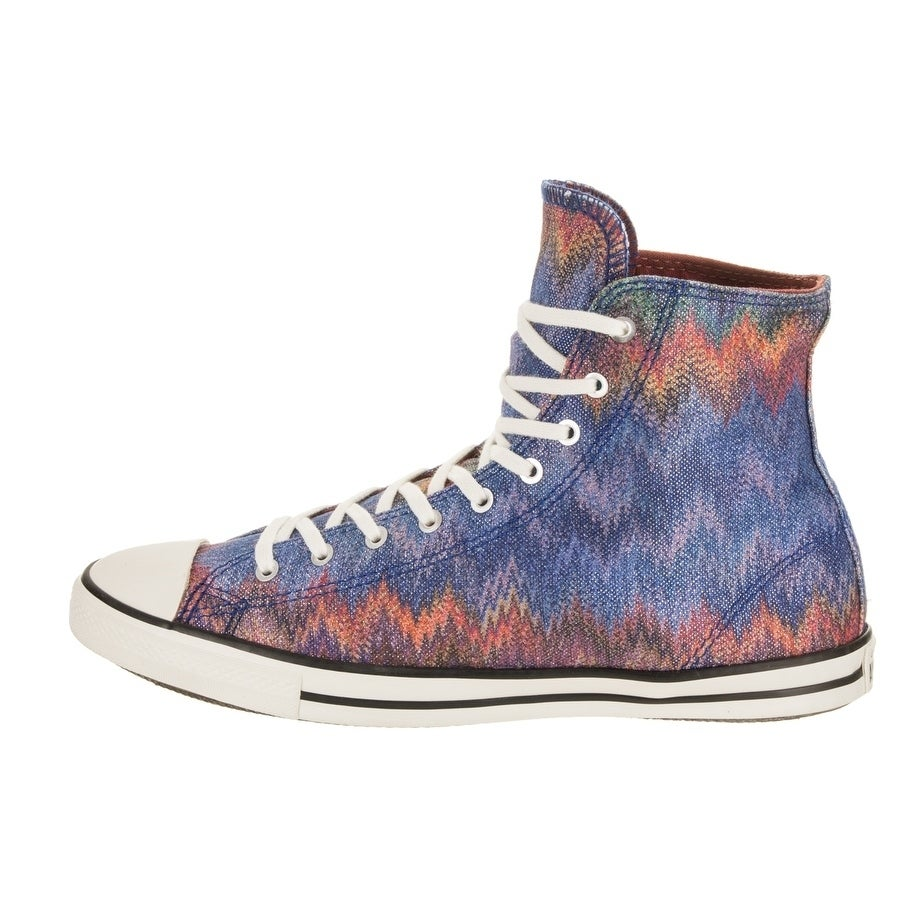 c992153a533b Shop Converse Women s Chuck Taylor All Star Fancy Missoni Hi Casual Shoe -  On Sale - Free Shipping Today - Overstock.com - 23035986