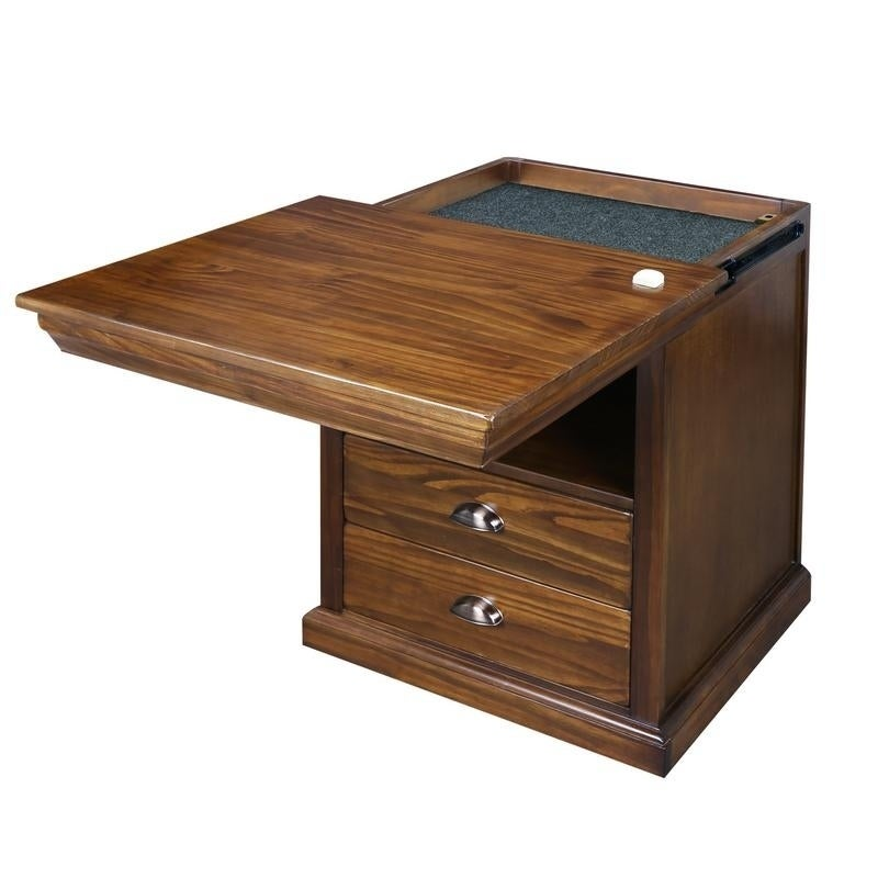 Shop Lincoln Nightstand With Concealed Compartment Concealment