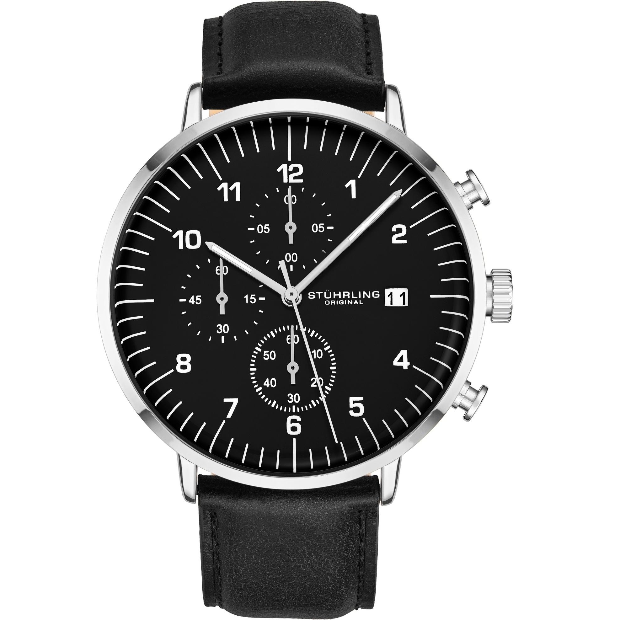 Shop Stuhrling Original Monaco Essex 3911l Chronograph Men S Watch