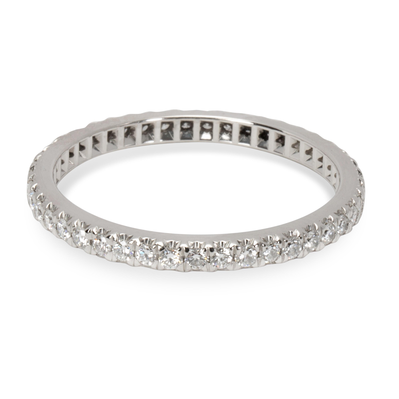 2e1210b340b Shop Pre-Owned Tiffany   Co. Soleste Diamond Eternity Band in ...