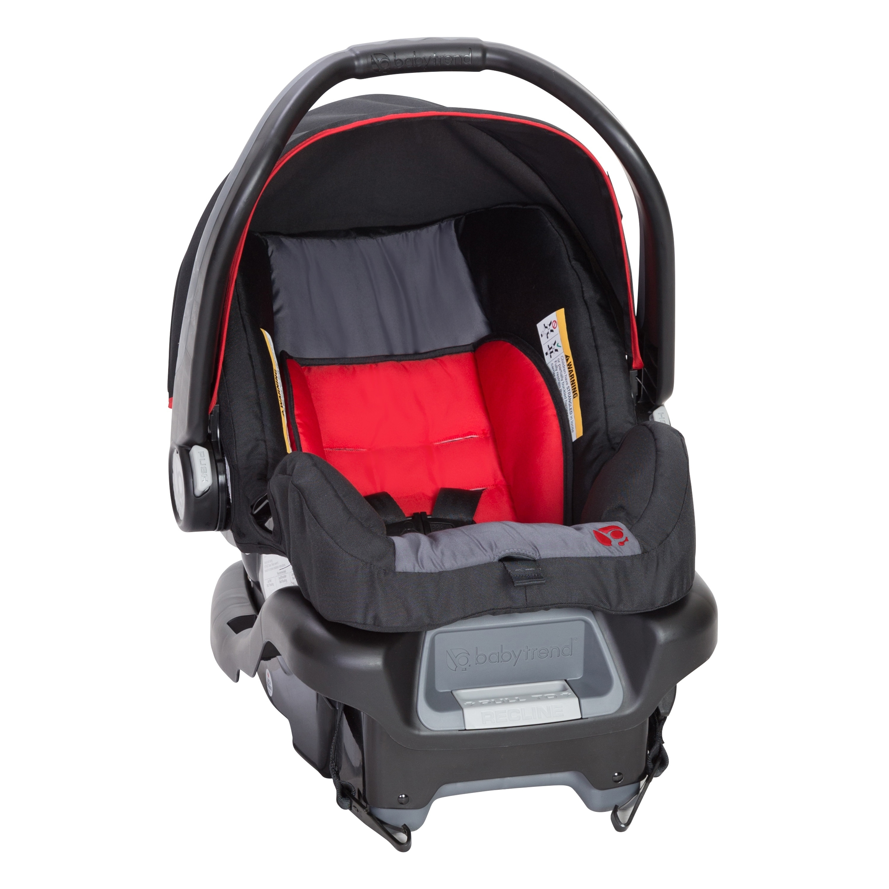 Shop Baby Trend Ally 35 Infant Car Seat Optic Red