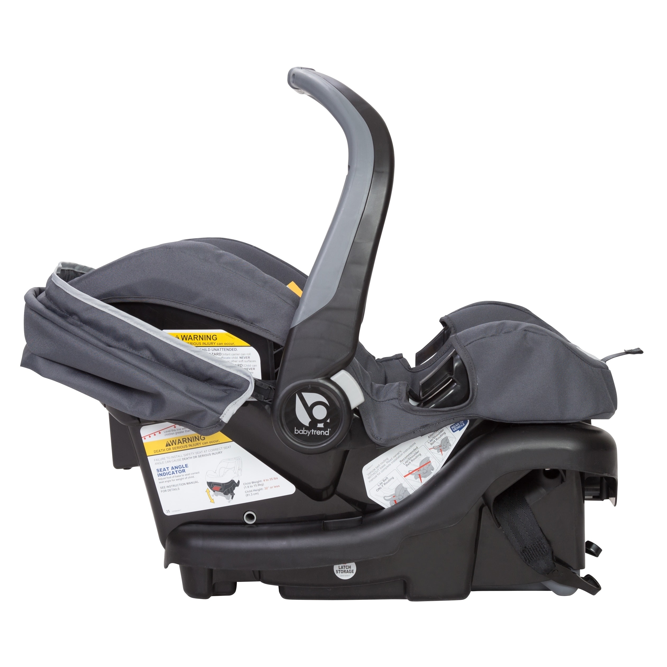 Shop Baby Trend Ally 35 Infant Car Seat Cloud Burst Free Shipping