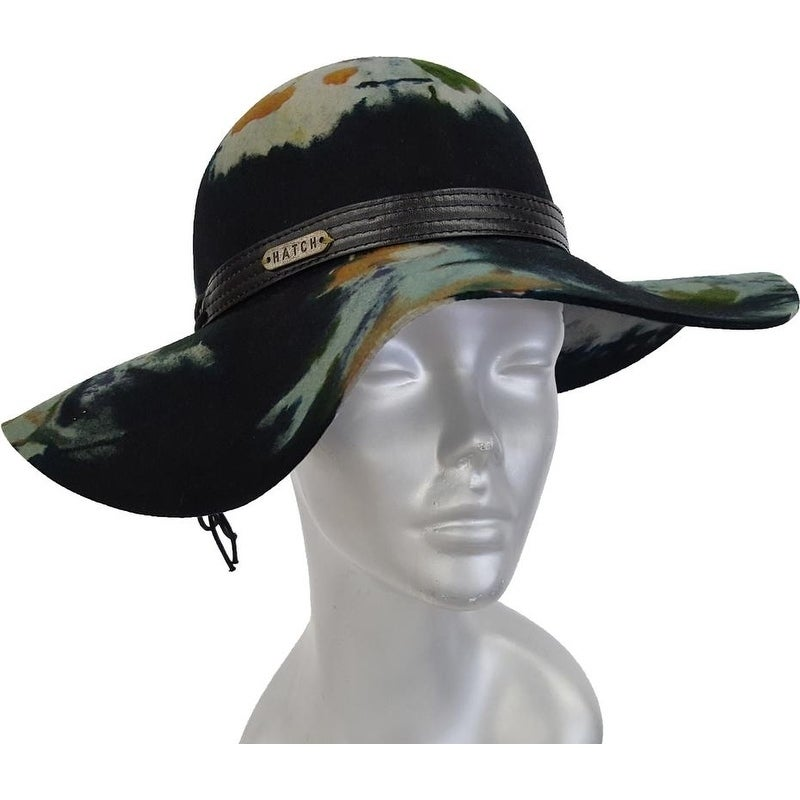 6626bb46967 Shop Women s Floppy Wide Brim Fall-Winter Hat 100 Percent Wool Felt Spash - Free  Shipping Today - Overstock - 23075901