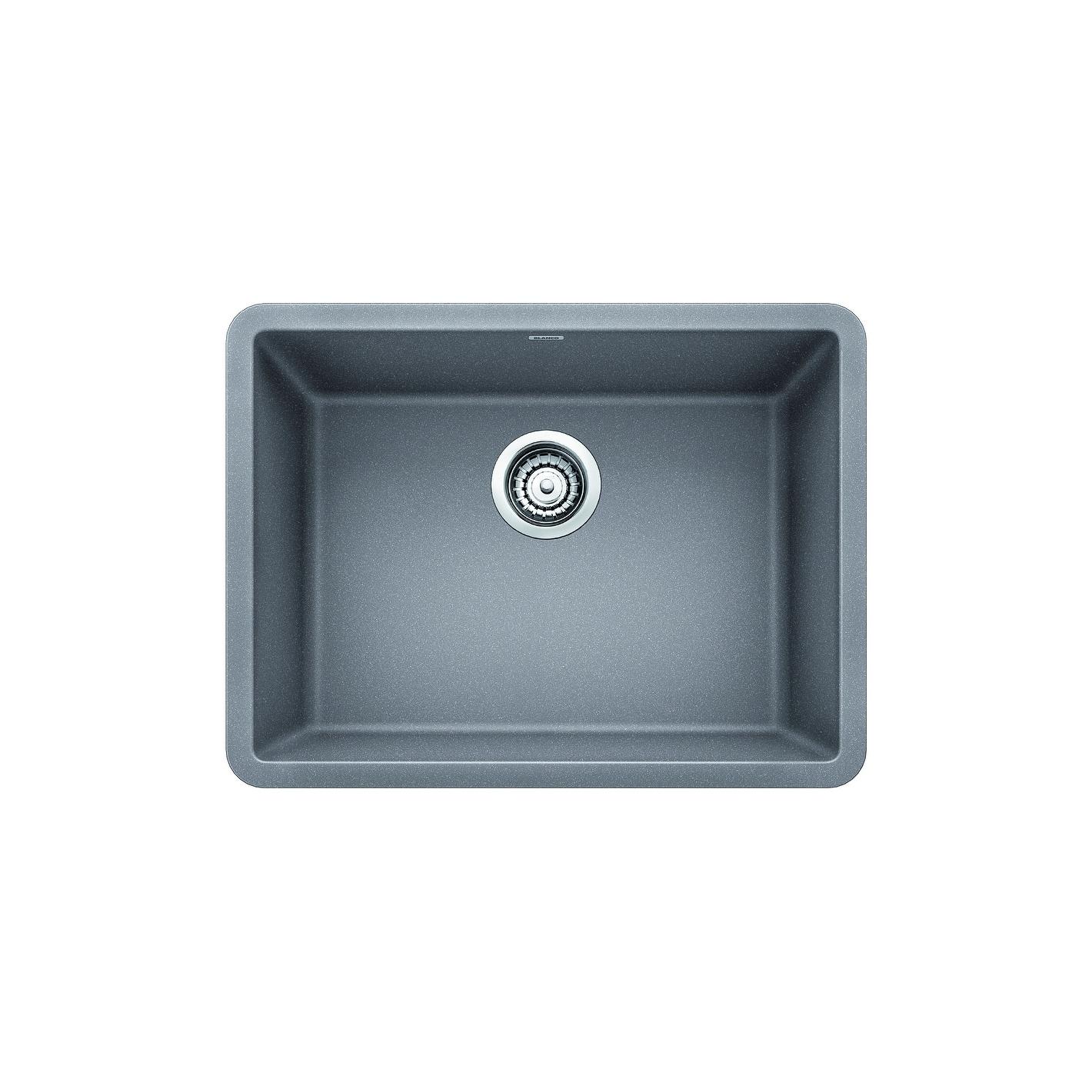 Shop Blanco SILGRANIT Granite Composite Sink PRECIS 24\
